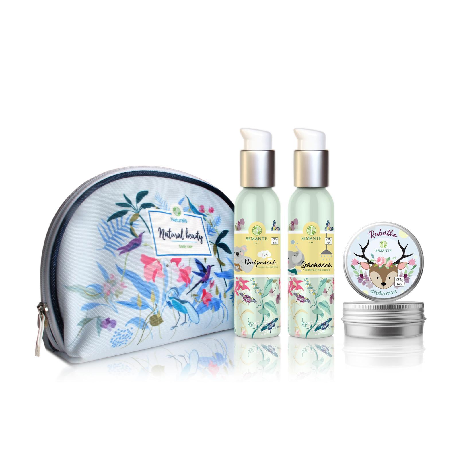 Semante by Naturalis Vítej mezi námi, sada přírodní kosmetiky pro děti i maminky 1 ks