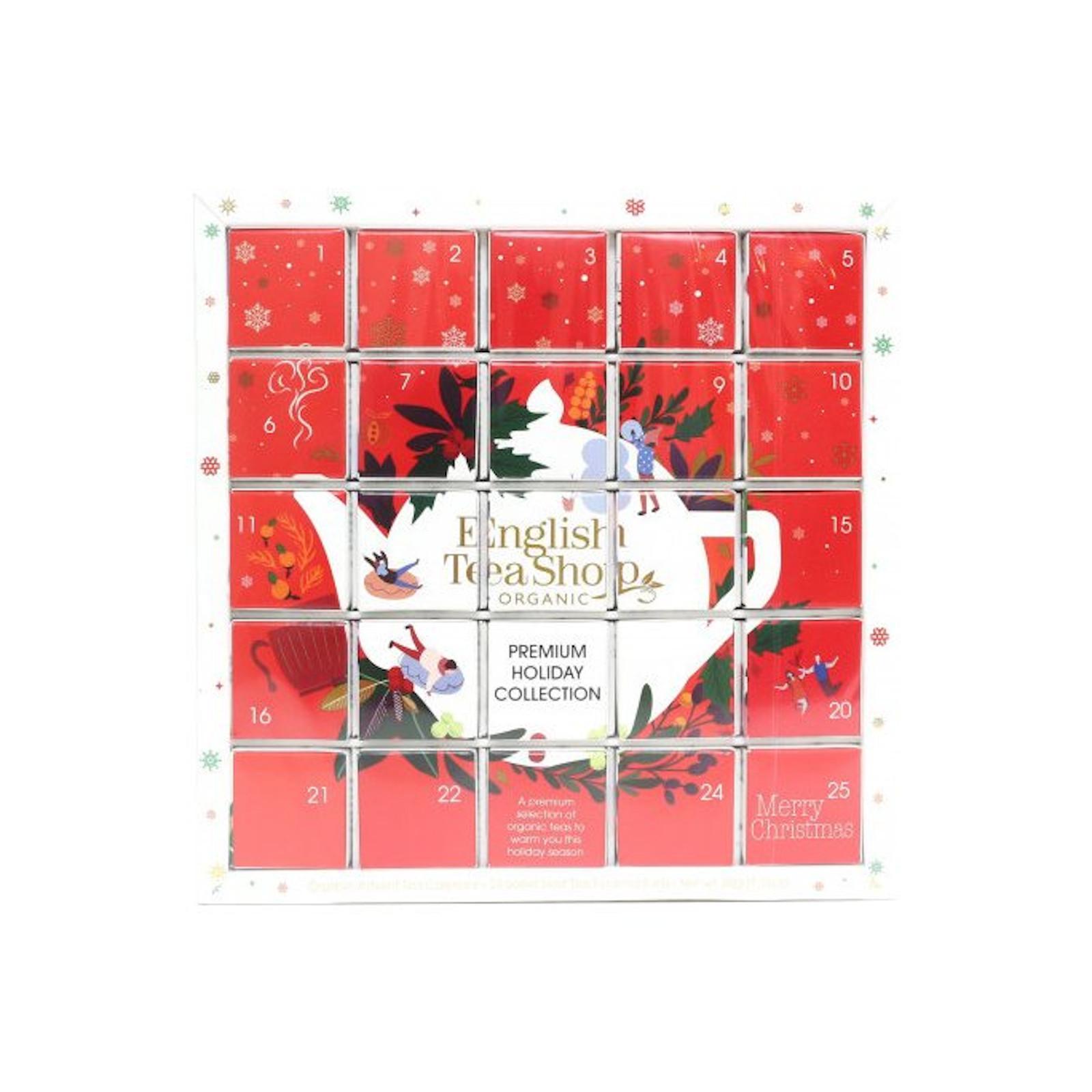 English Tea Shop Červený adventní kalendář Puzzle 25 ks