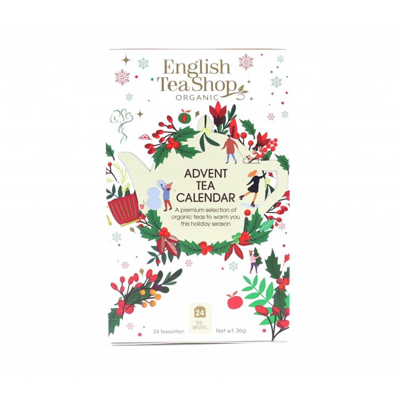 English Tea Shop Bílý adventní kalendář 24 ks
