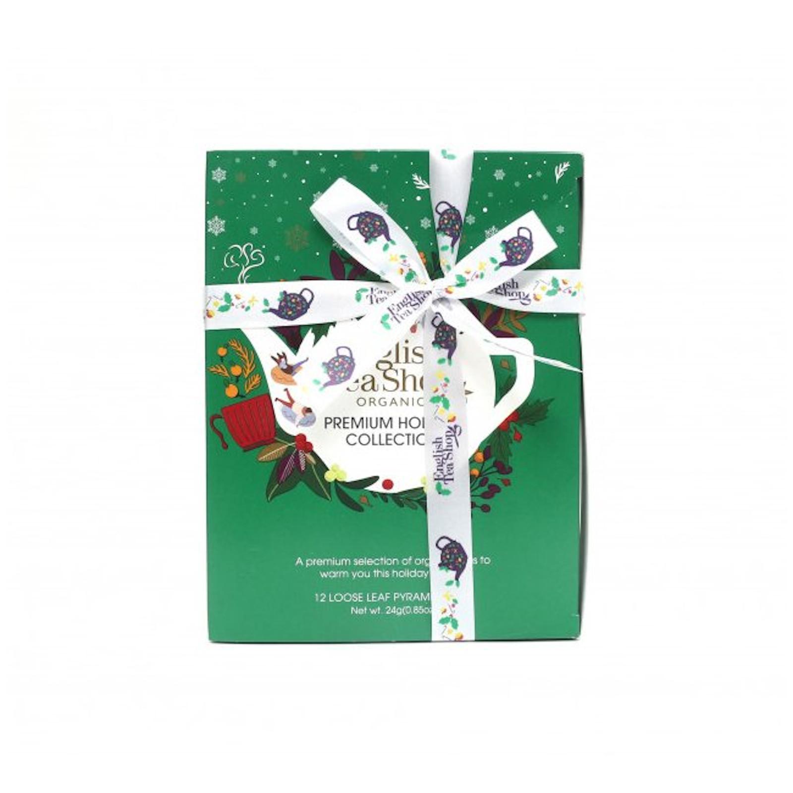 English Tea Shop Zelená vánoční kolekce 12 ks