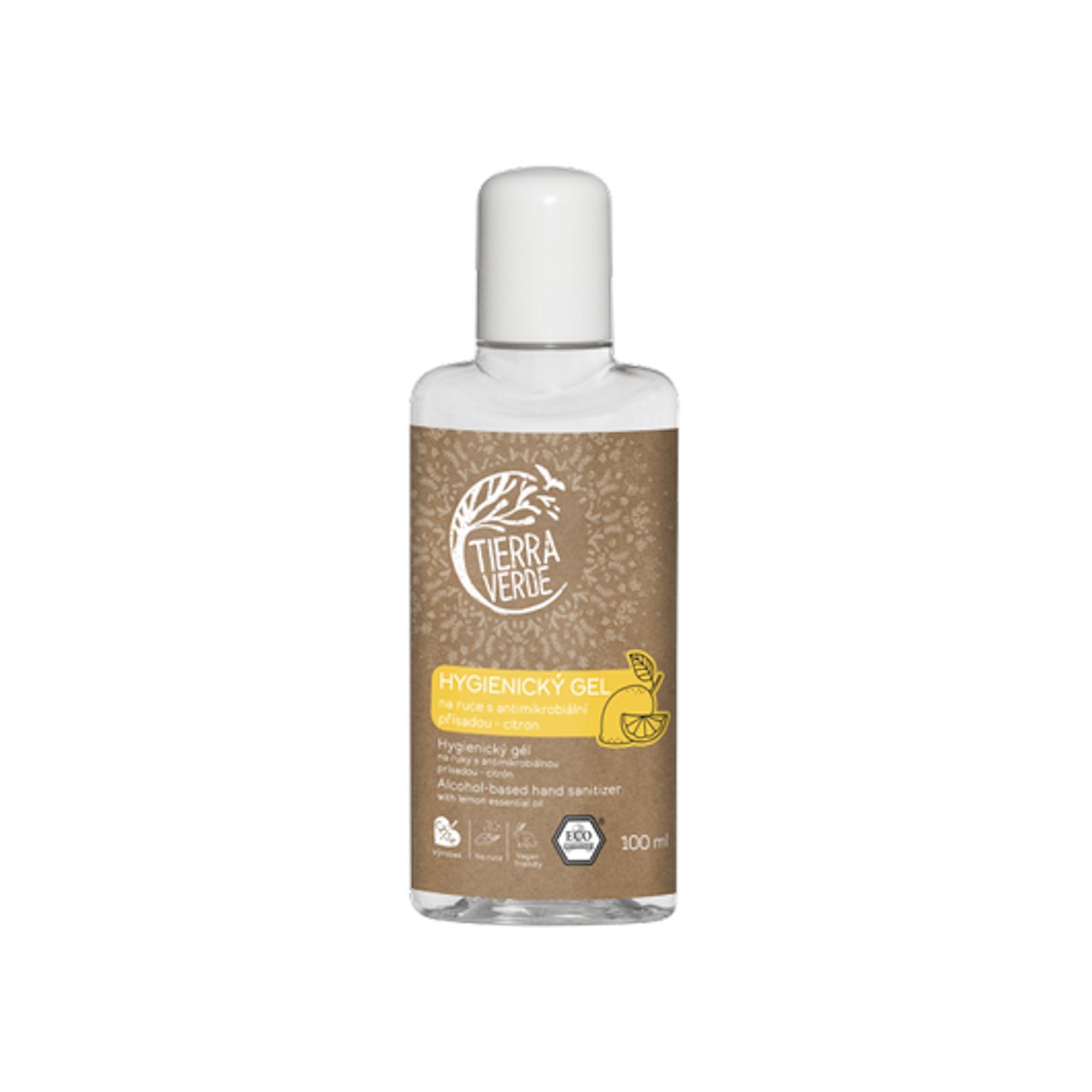 Tierra Verde Hygienický gel na ruce citron 100 ml