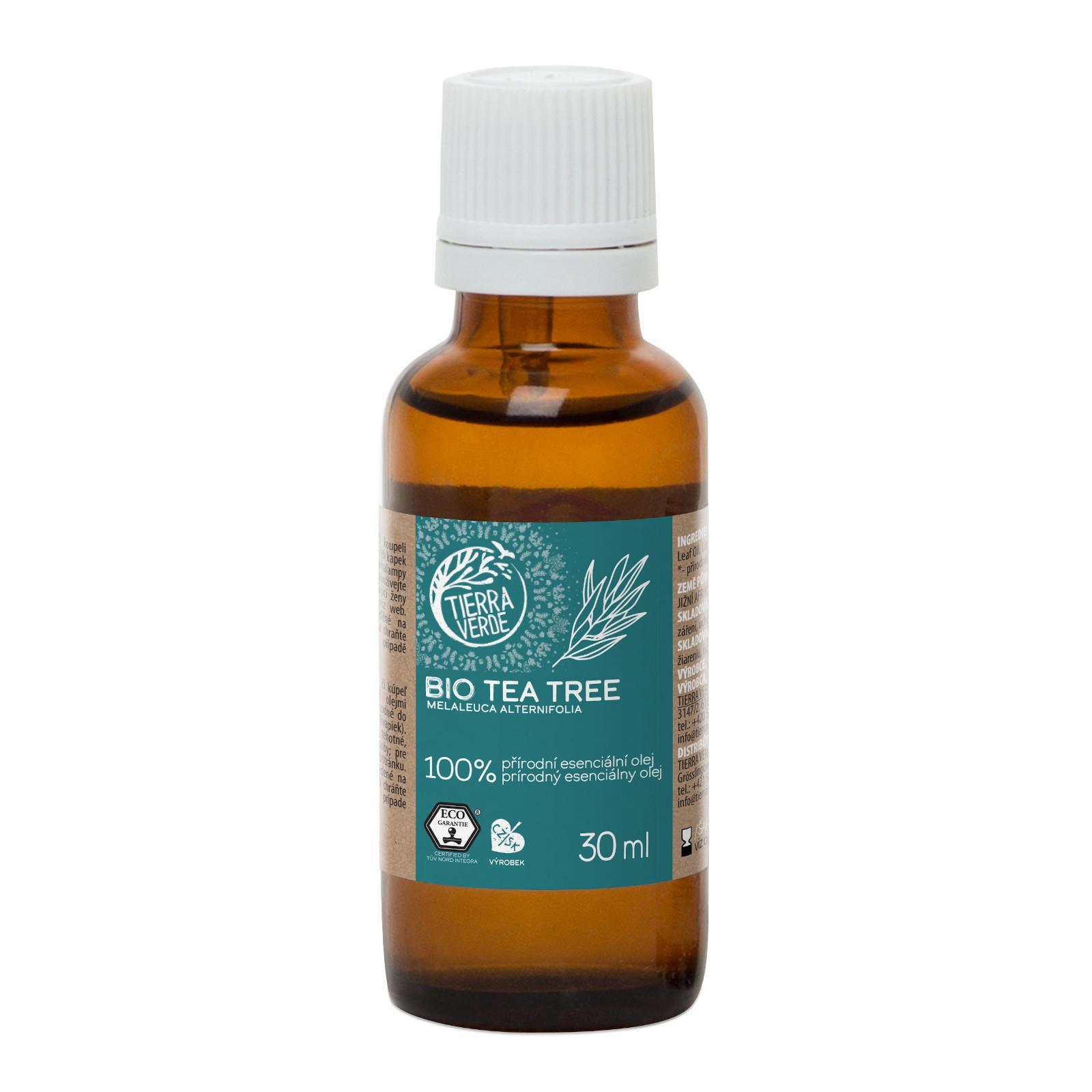Yellow and Blue Silice tea-tree, bio 30 ml