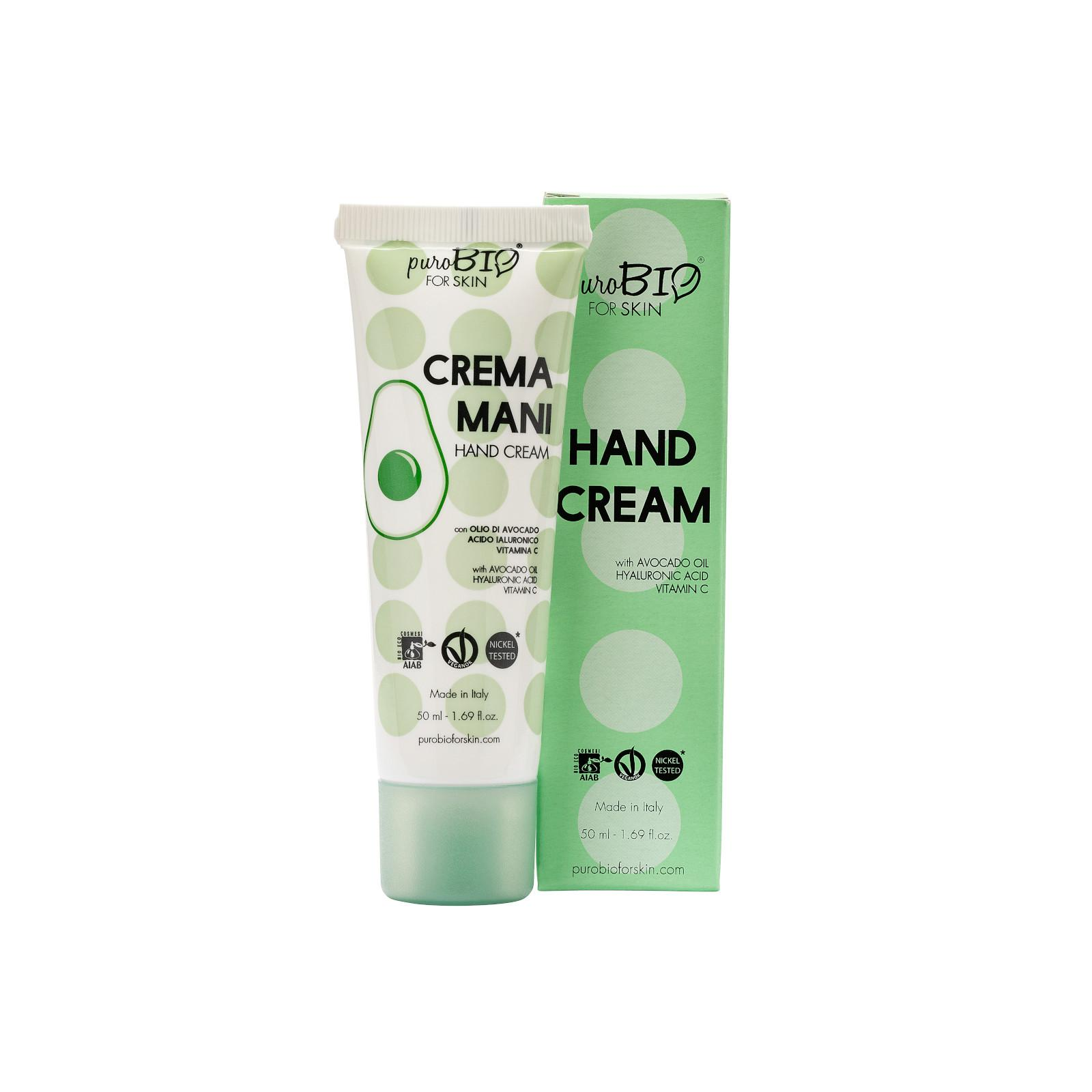 puroBIO cosmetics Krém na ruce s avokádovým olejem 50 ml