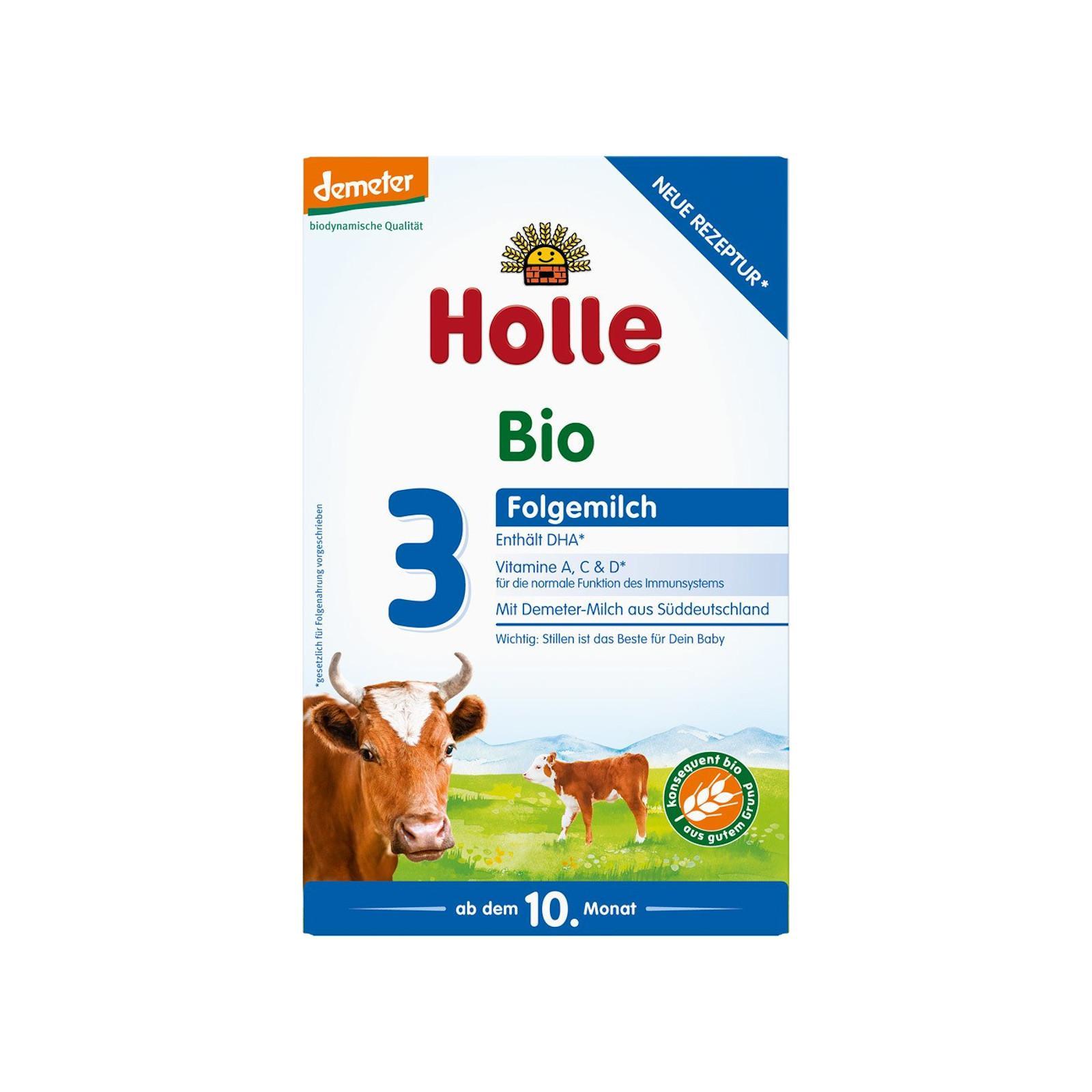 Holle Bio dětská mléčná výživa 3 pokračovací 600 g