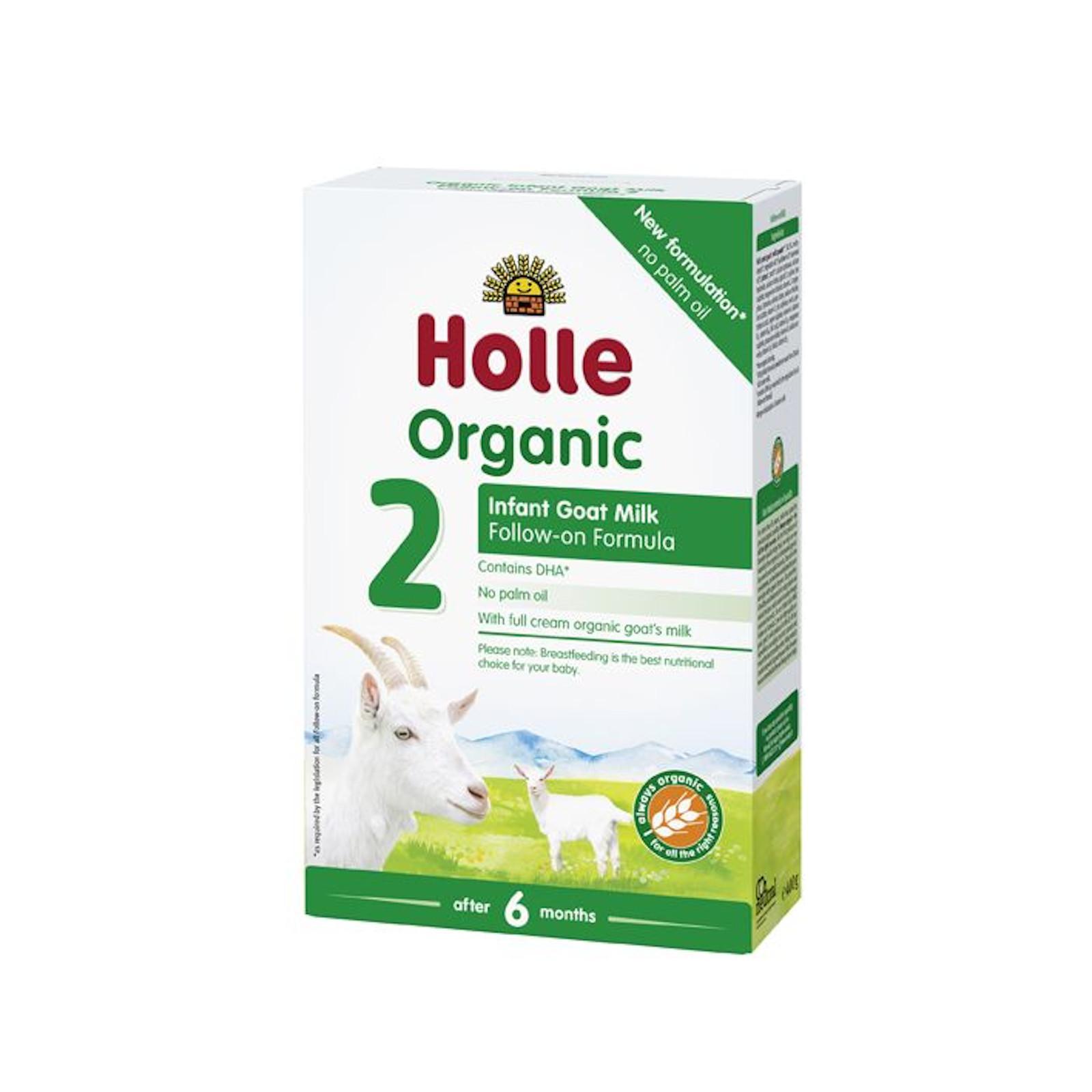 Holle Bio dětská mléčná výživa na bázi kozího mléka 2 pokračovací 400 g