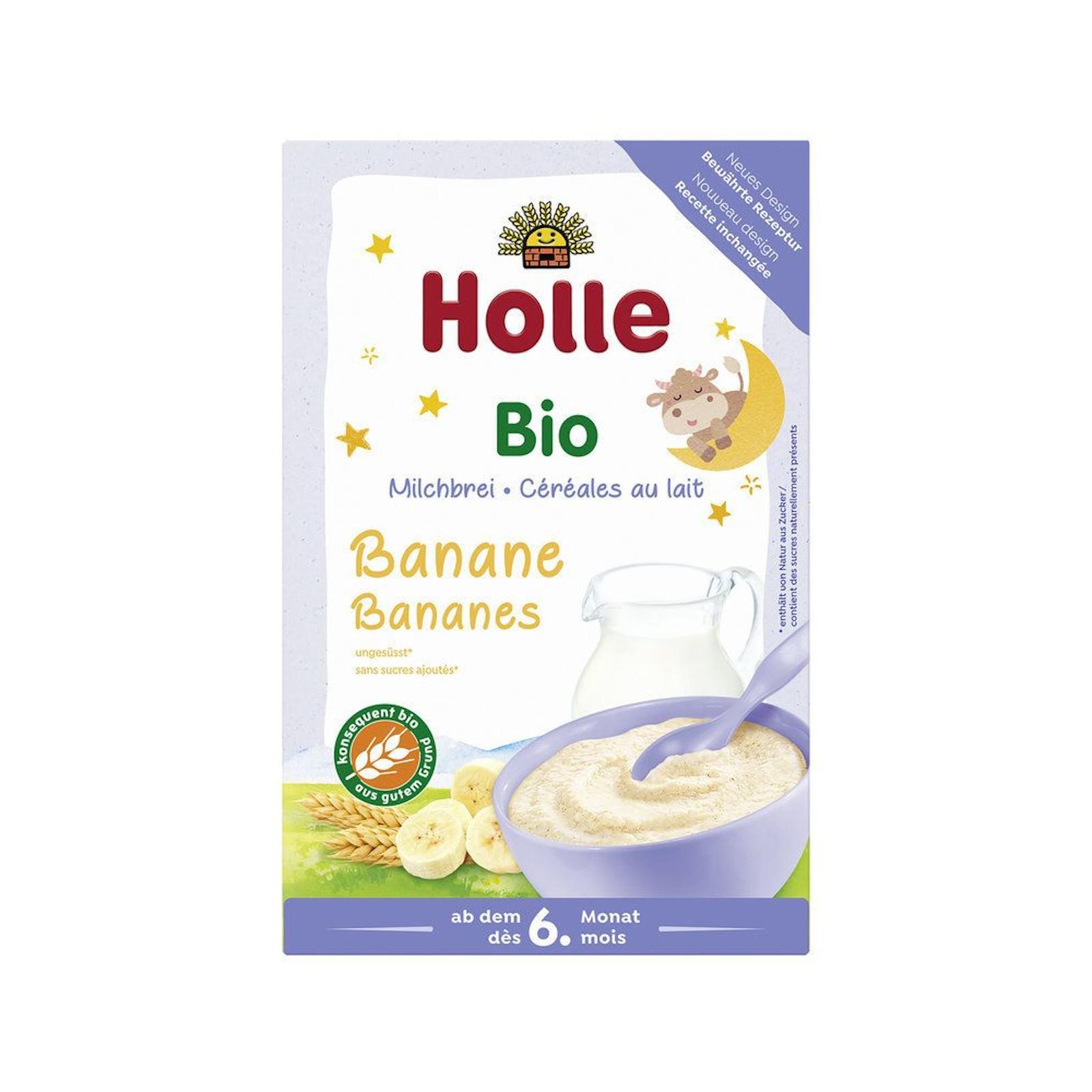 Holle Bio Banánová mléčná kaše 250 g