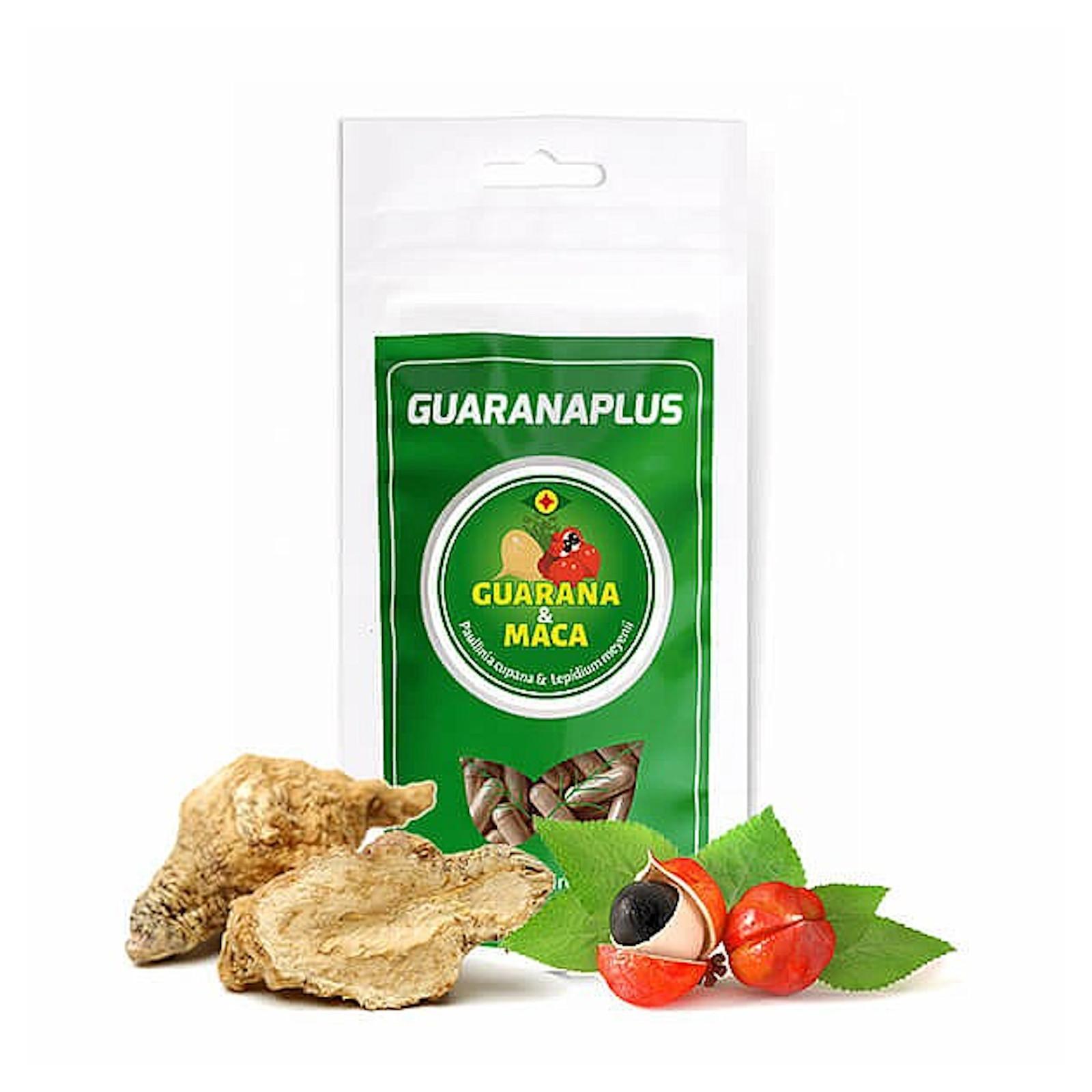 Guaranaplus Guarana + Maca 100 kapslí