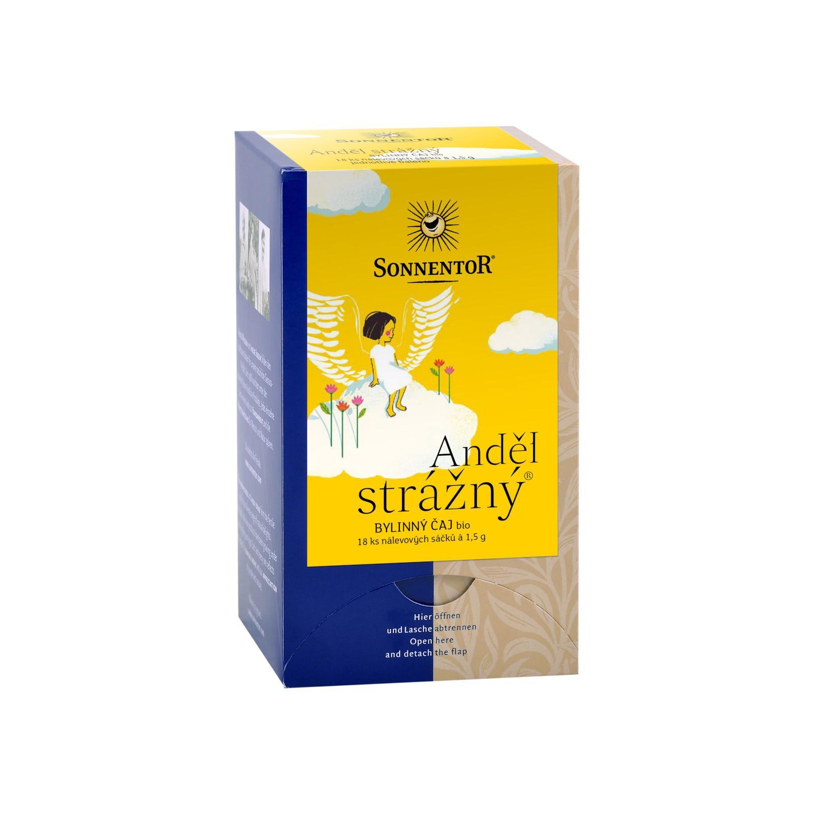Sonnentor Anděl strážný, bylinný čaj bio 27 g, 18 sáčků