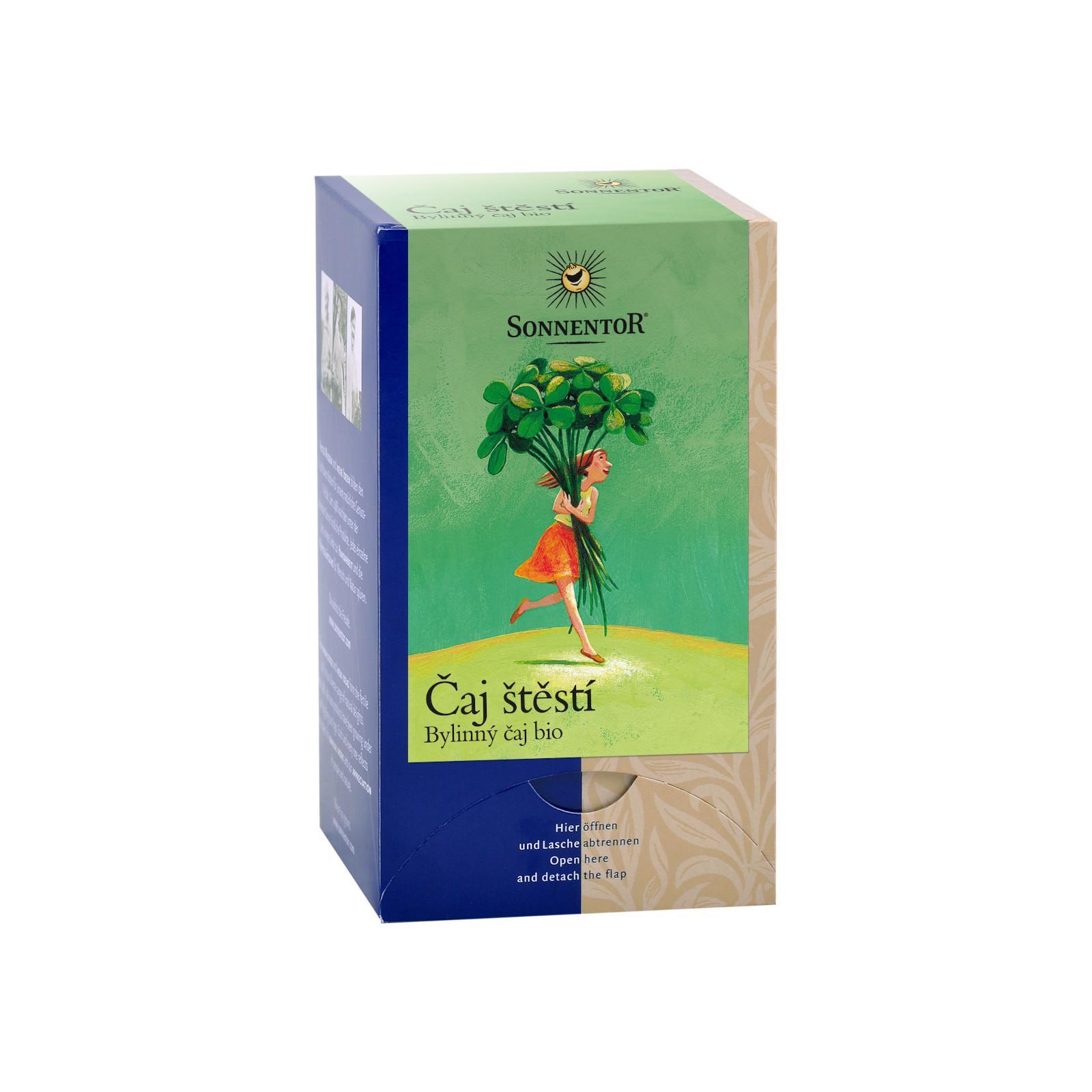 Sonnentor Čaj štěstí, bylinný čaj bio 27 g, 18 sáčků