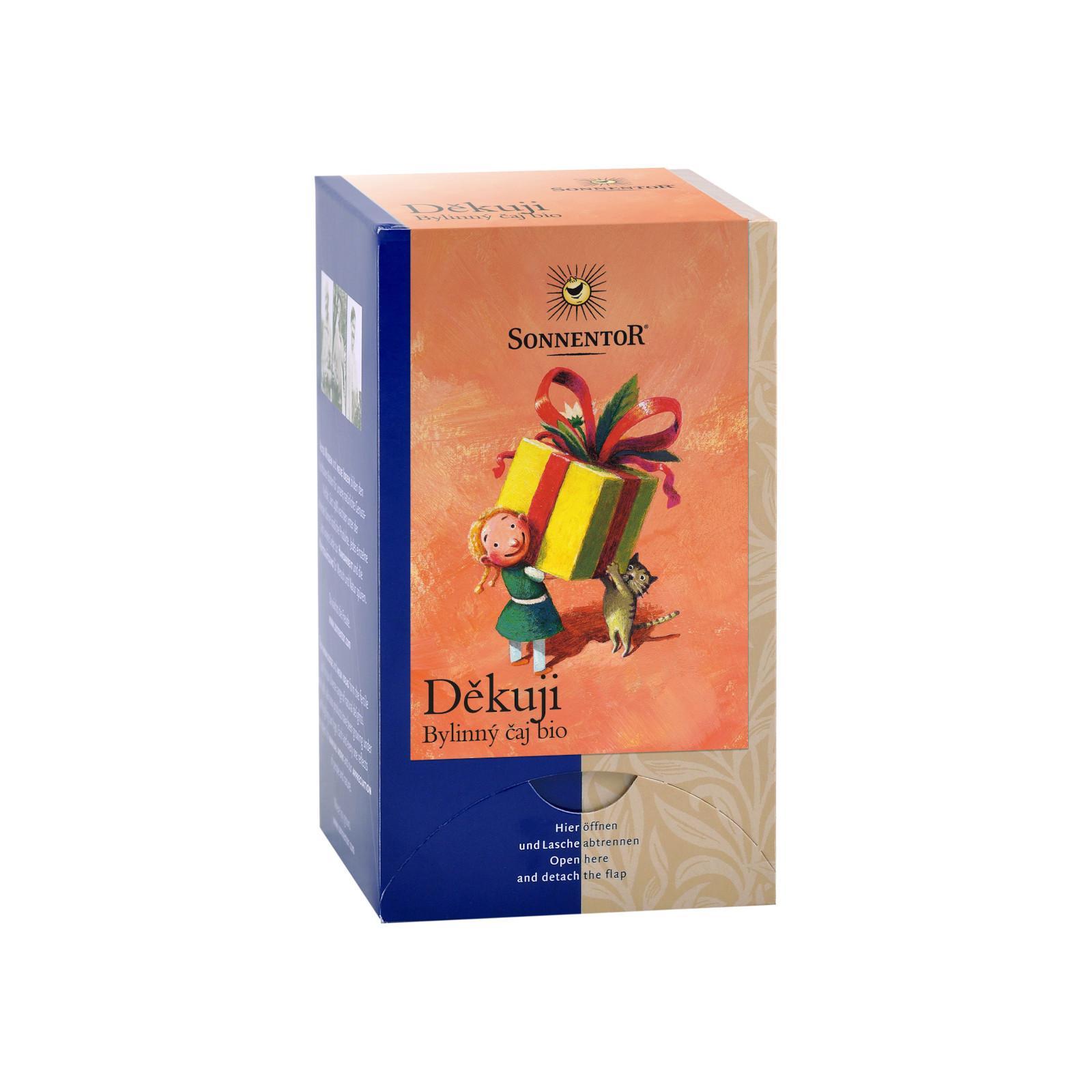 Sonnentor Děkuji, bylinný čaj bio 27 g, 18 sáčků