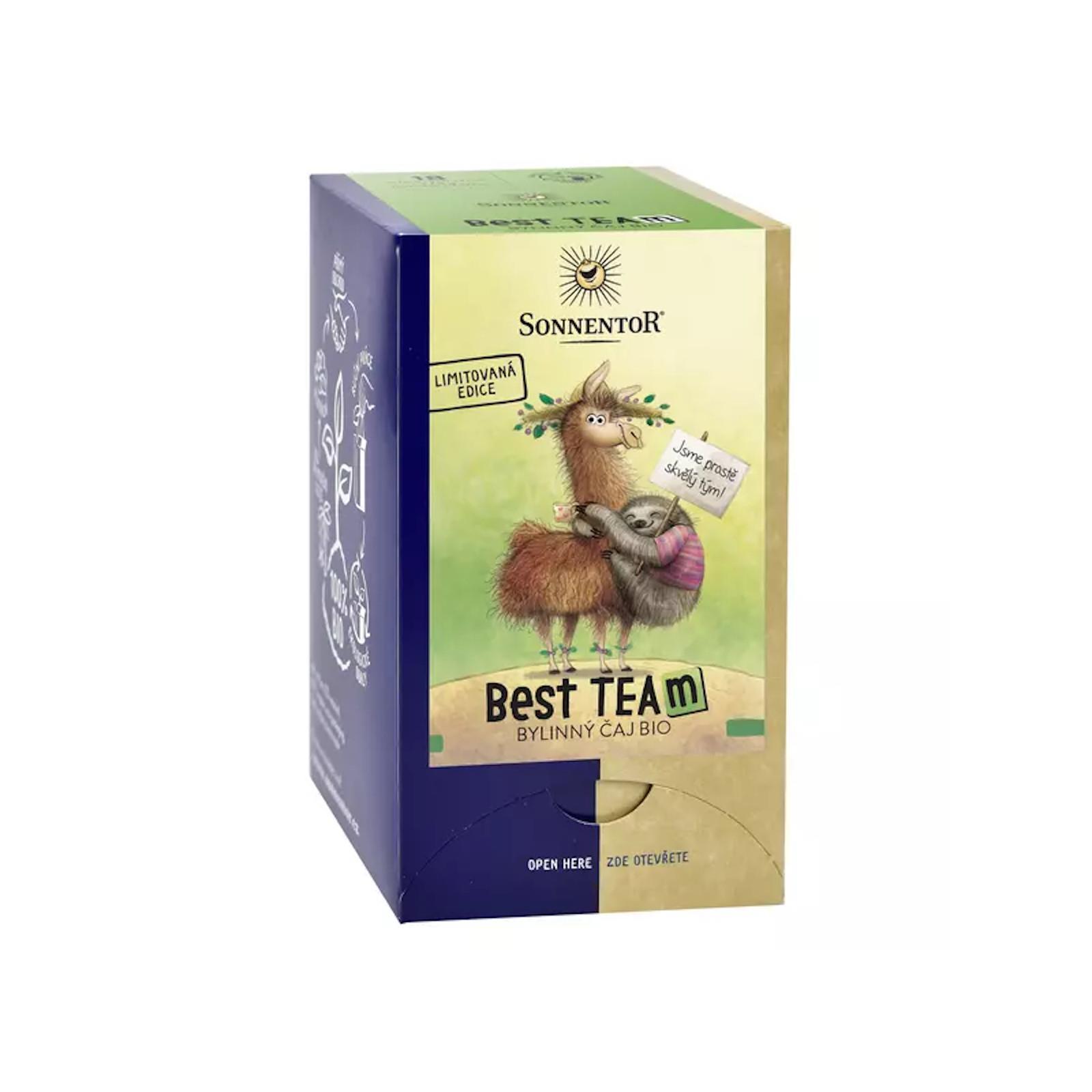 Sonnentor Best Team, bylinný čaj bio 32,4 g, 18 sáčků