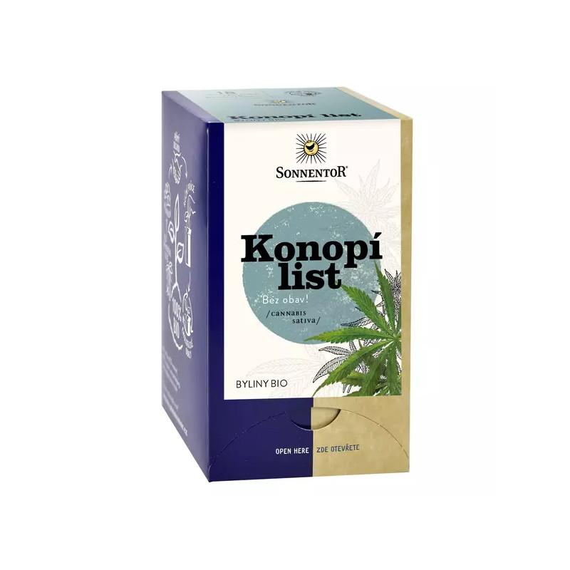 Sonnentor Konopný čaj bio 27 g, 18 sáčků