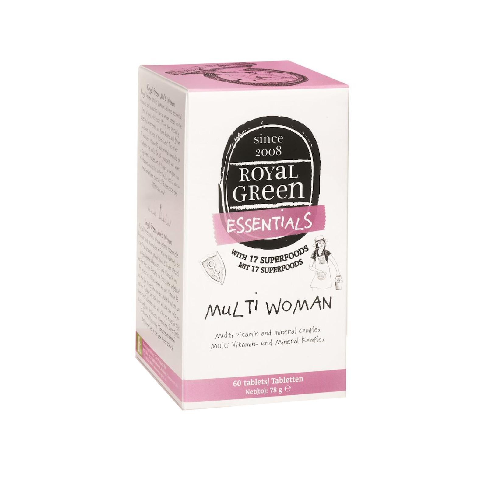 Royal Green Multivitamín pro ženy 60 tablet