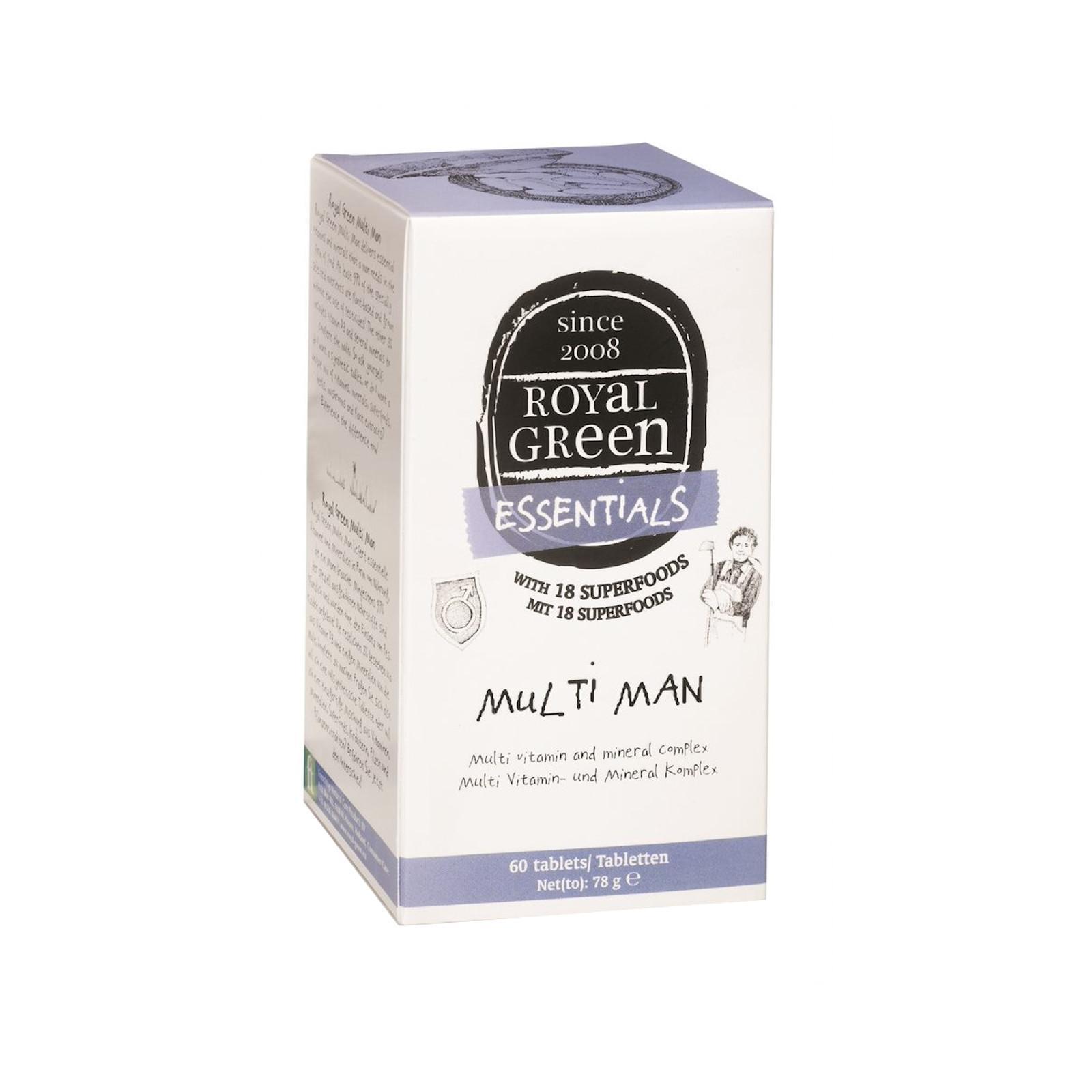 Royal Green Multivitamín pro muže 60 tablet