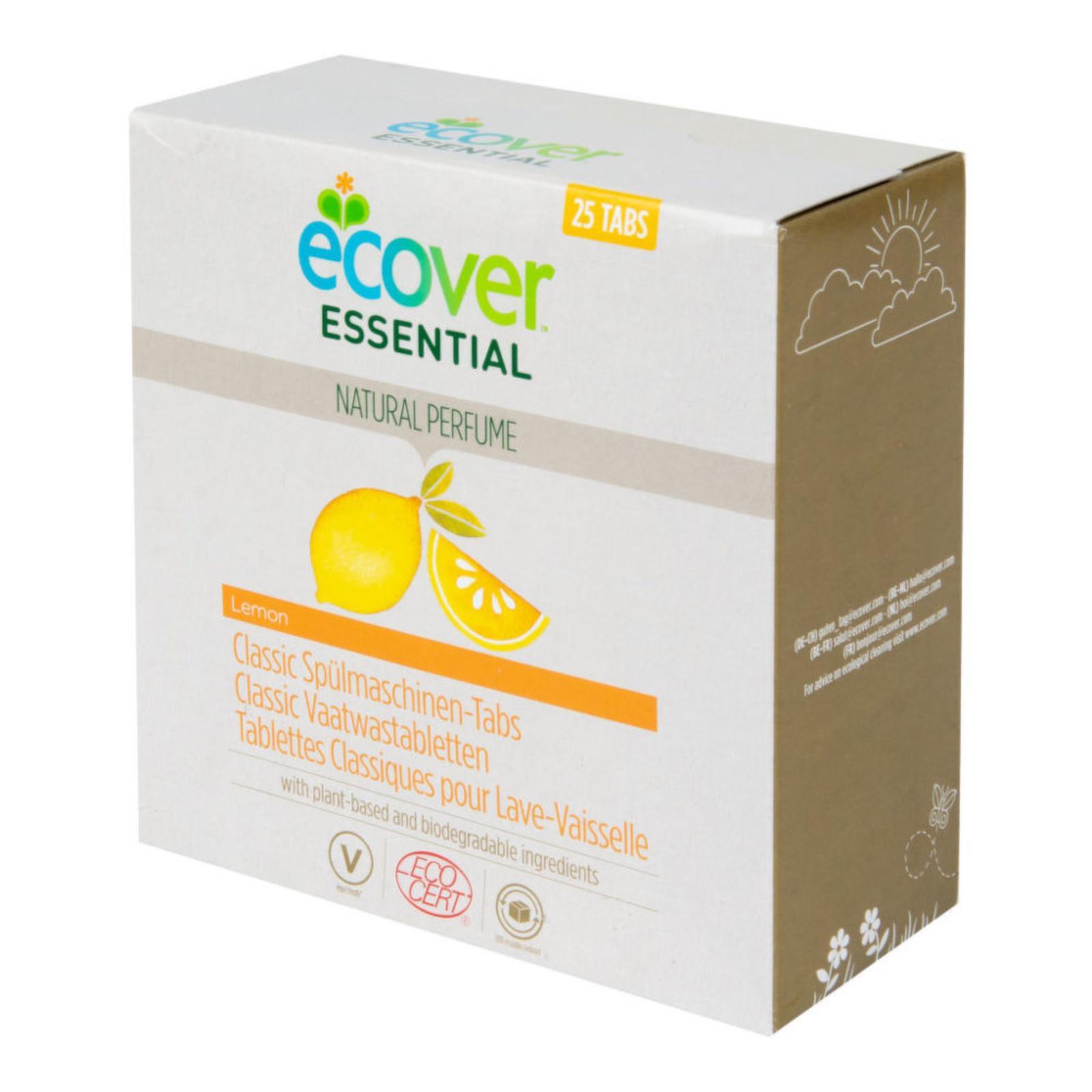 Ecover Essential Tablety do myčky Classic citron 25 ks