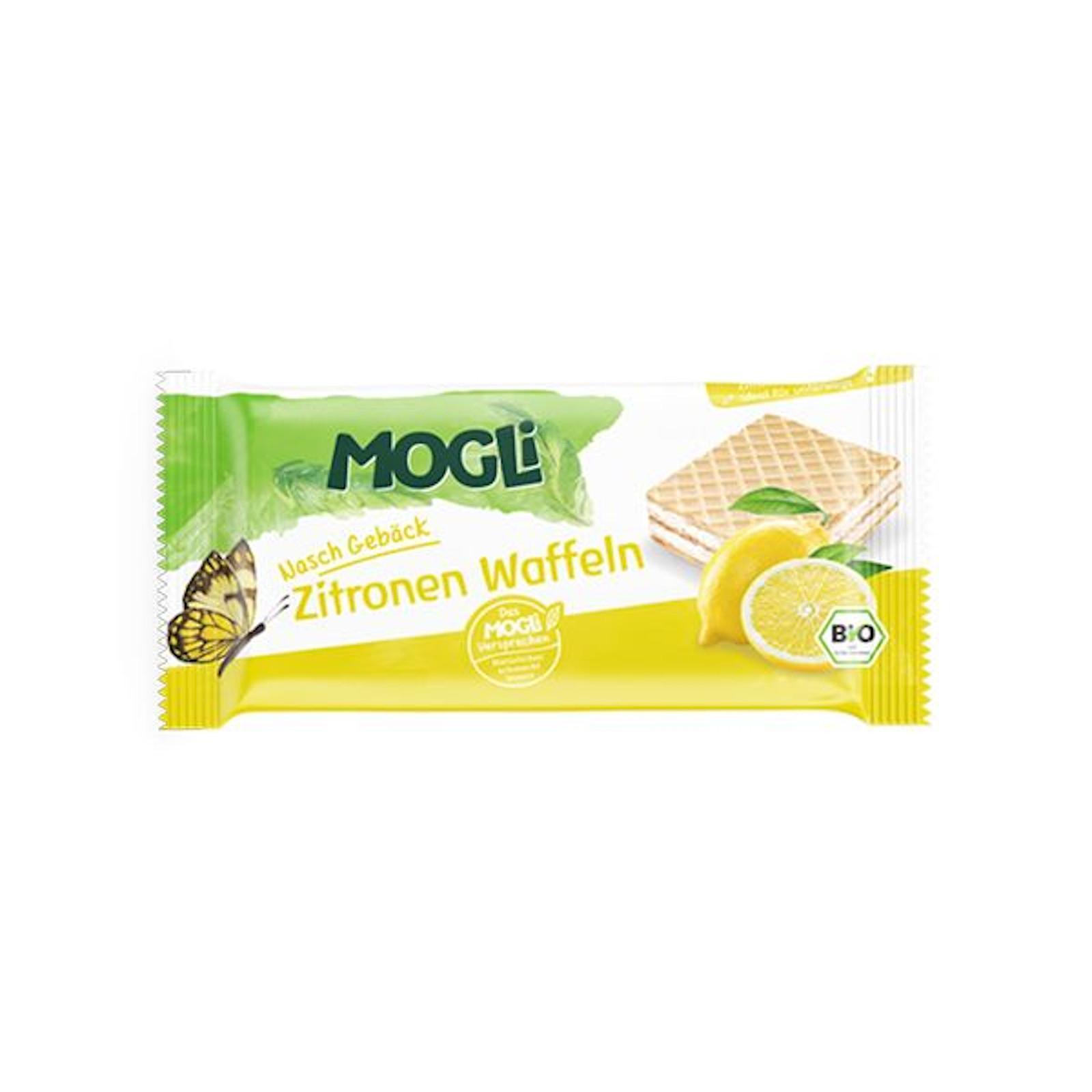 MOGLI Bio Oplatky citron 15 g