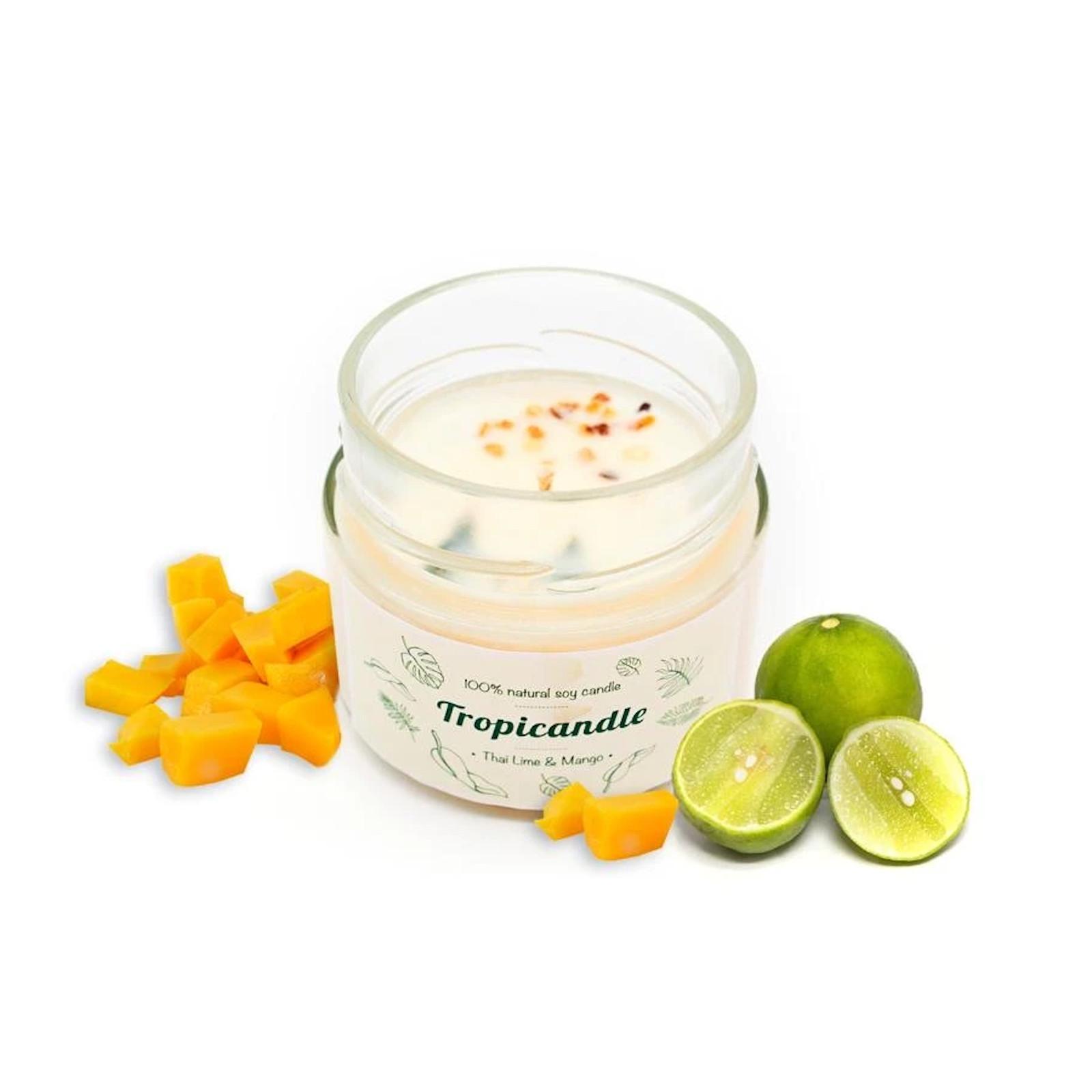 TROPIKALIA Tropicandle thai lime & mango 150 ml
