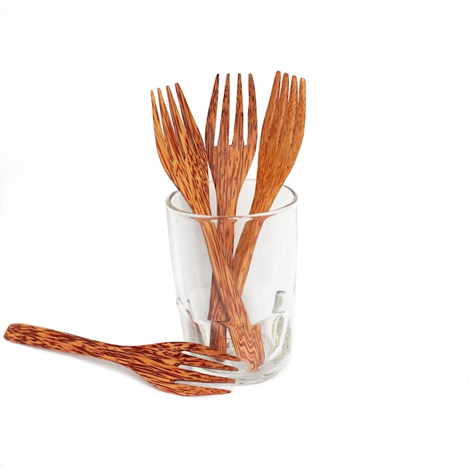 TROPIKALIA Kokosová vidlička 1 ks, 16 cm