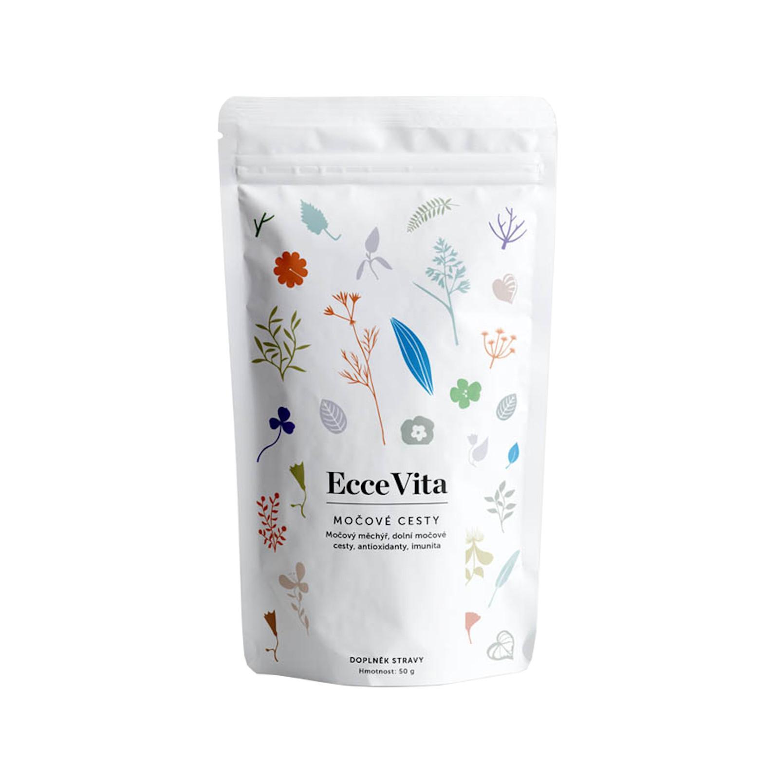Ecce Vita Bylinný čaj sypaný Močové cesty 50 g