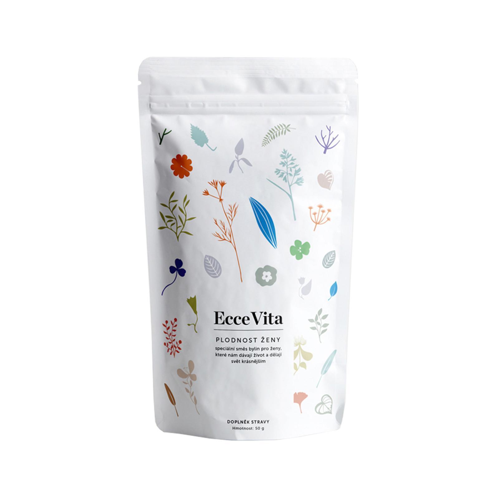 Ecce Vita Bylinný čaj sypaný Plodnost ženy 50 g