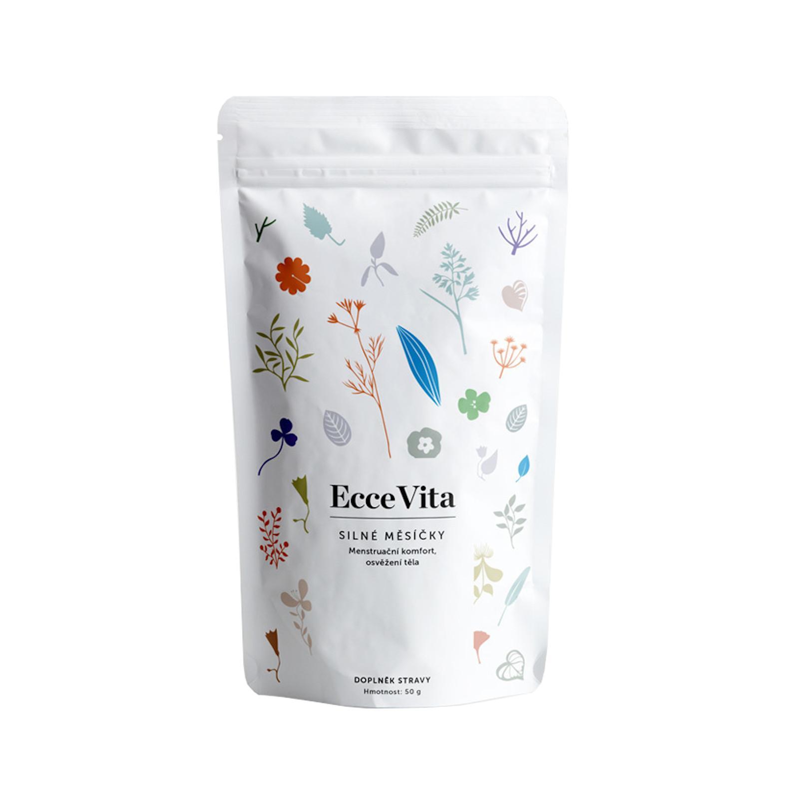 Ecce Vita Bylinný čaj sypaný Silné měsíčky 50 g