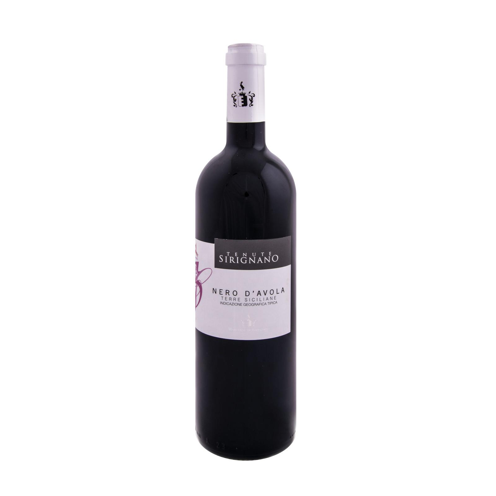 Marchesi de Gregorio Víno červené Nero d´Avola BIO 750 ml