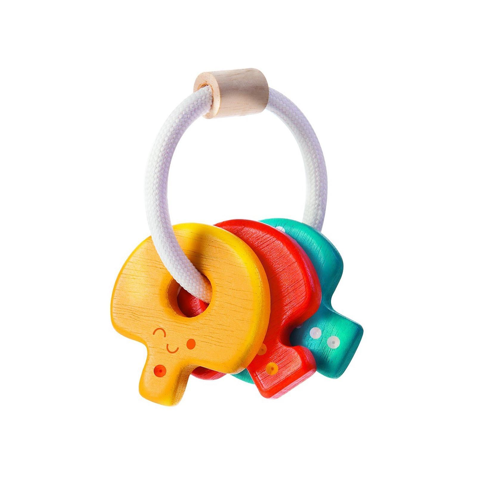PLAN TOYS Chrastítko s klíči 1 ks