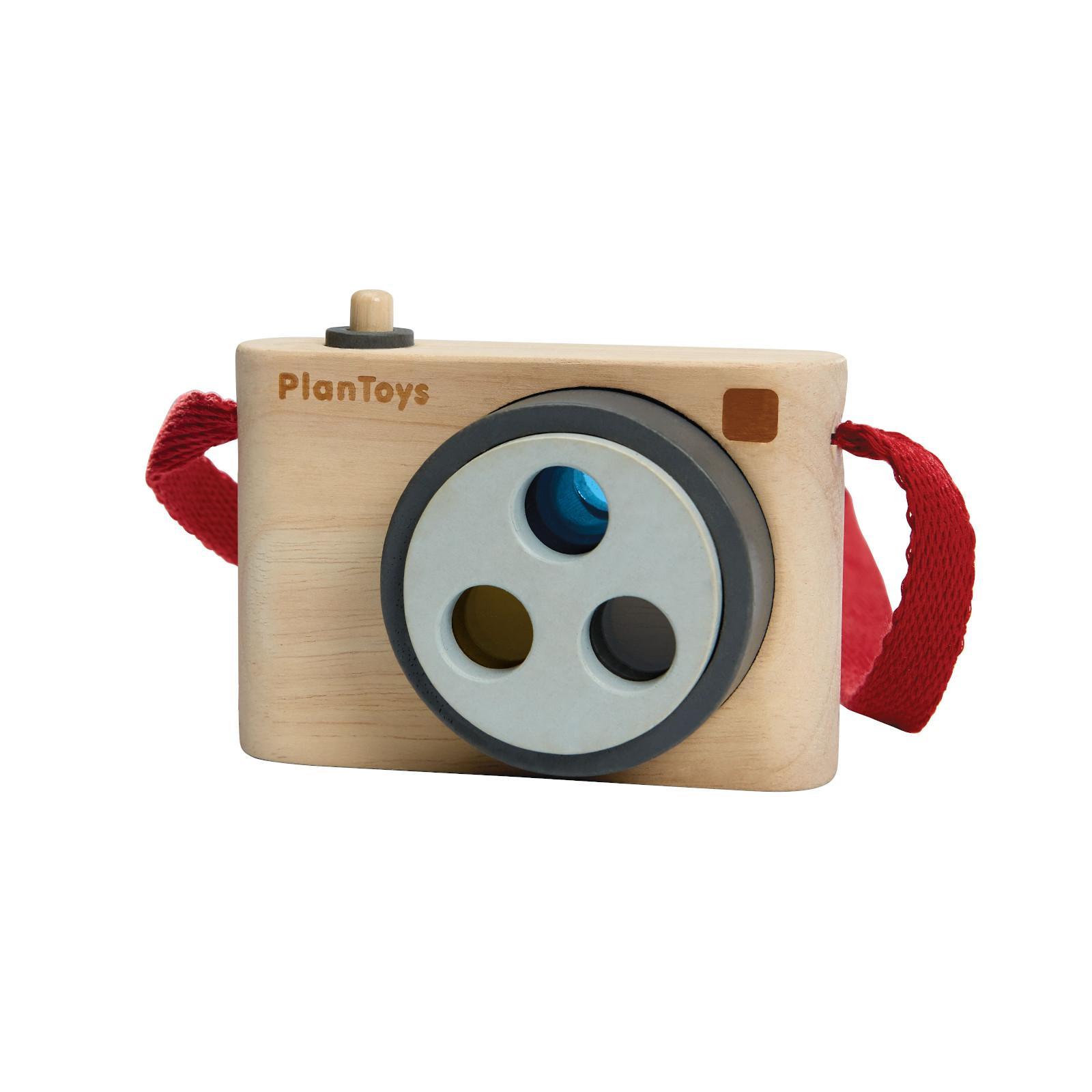 PLAN TOYS Barevný fotoaparát 1 ks