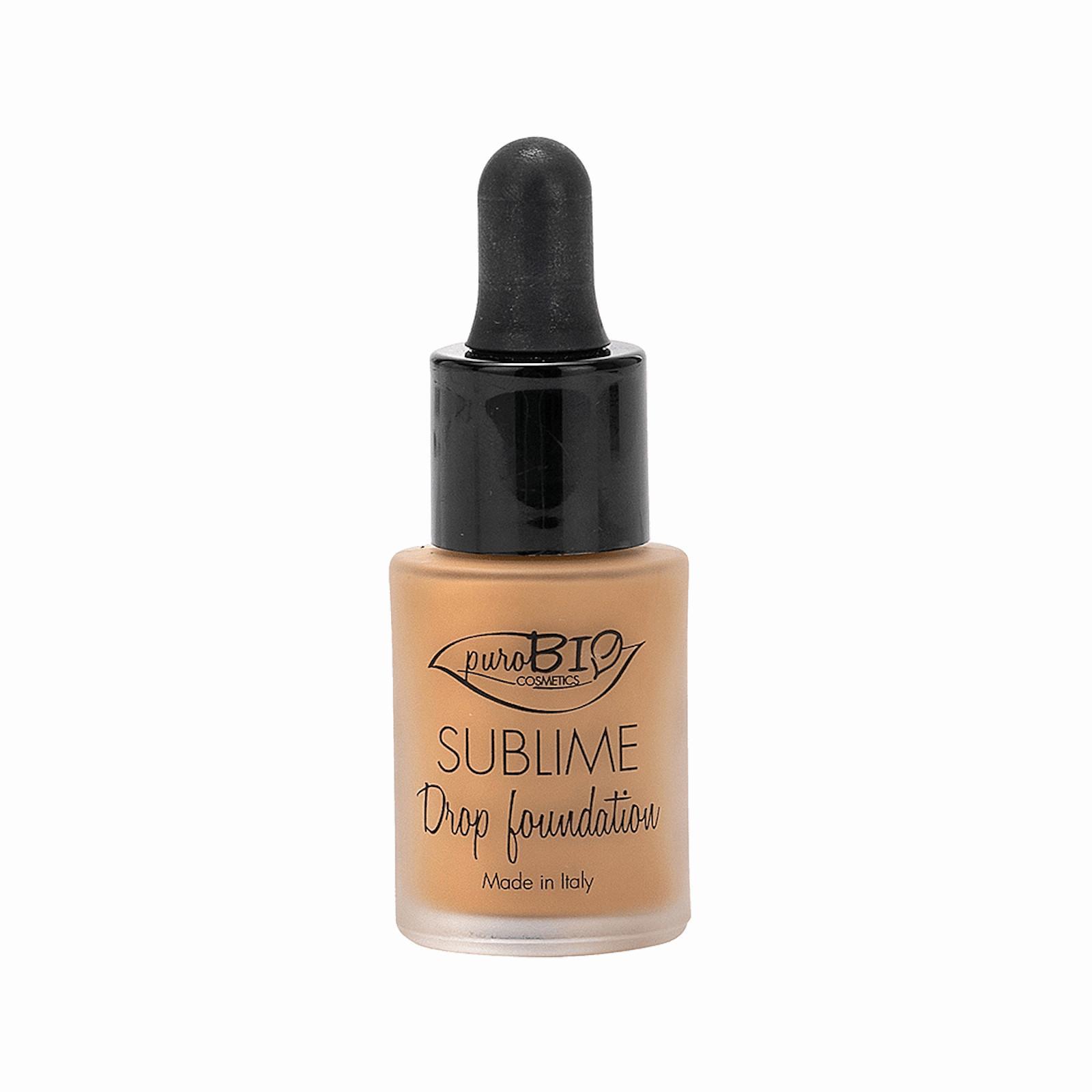 puroBIO cosmetics Tekutý make-up 05 s SPF 10 19 g