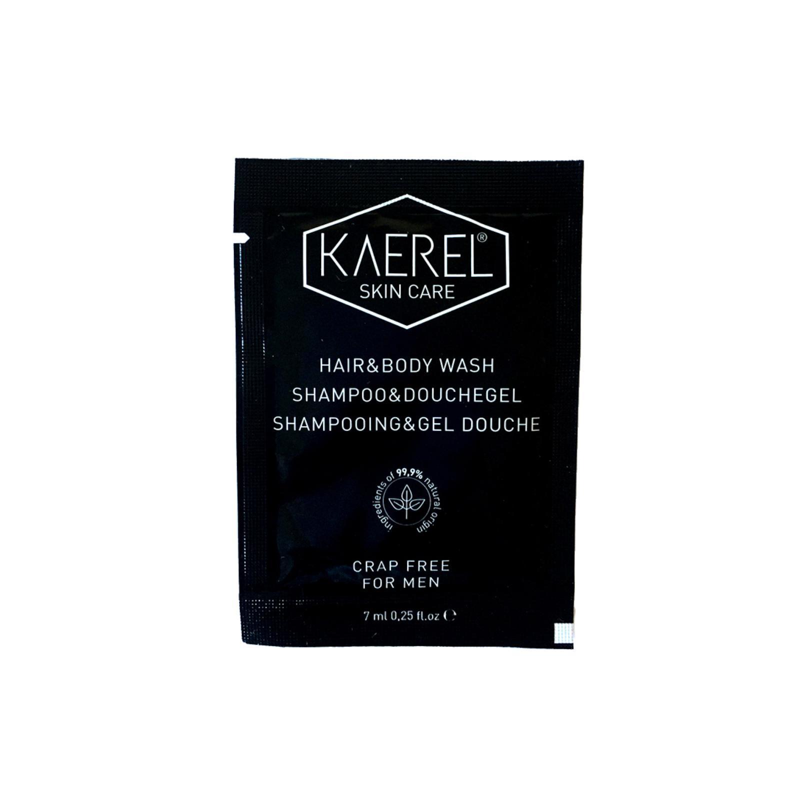 KAEREL SKIN CARE Šampon a sprchový gel pro muže 2v1 7 ml