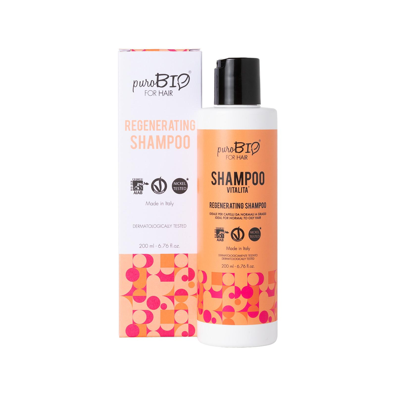 puroBIO cosmetics for Hair Regenerační šampon 200 ml