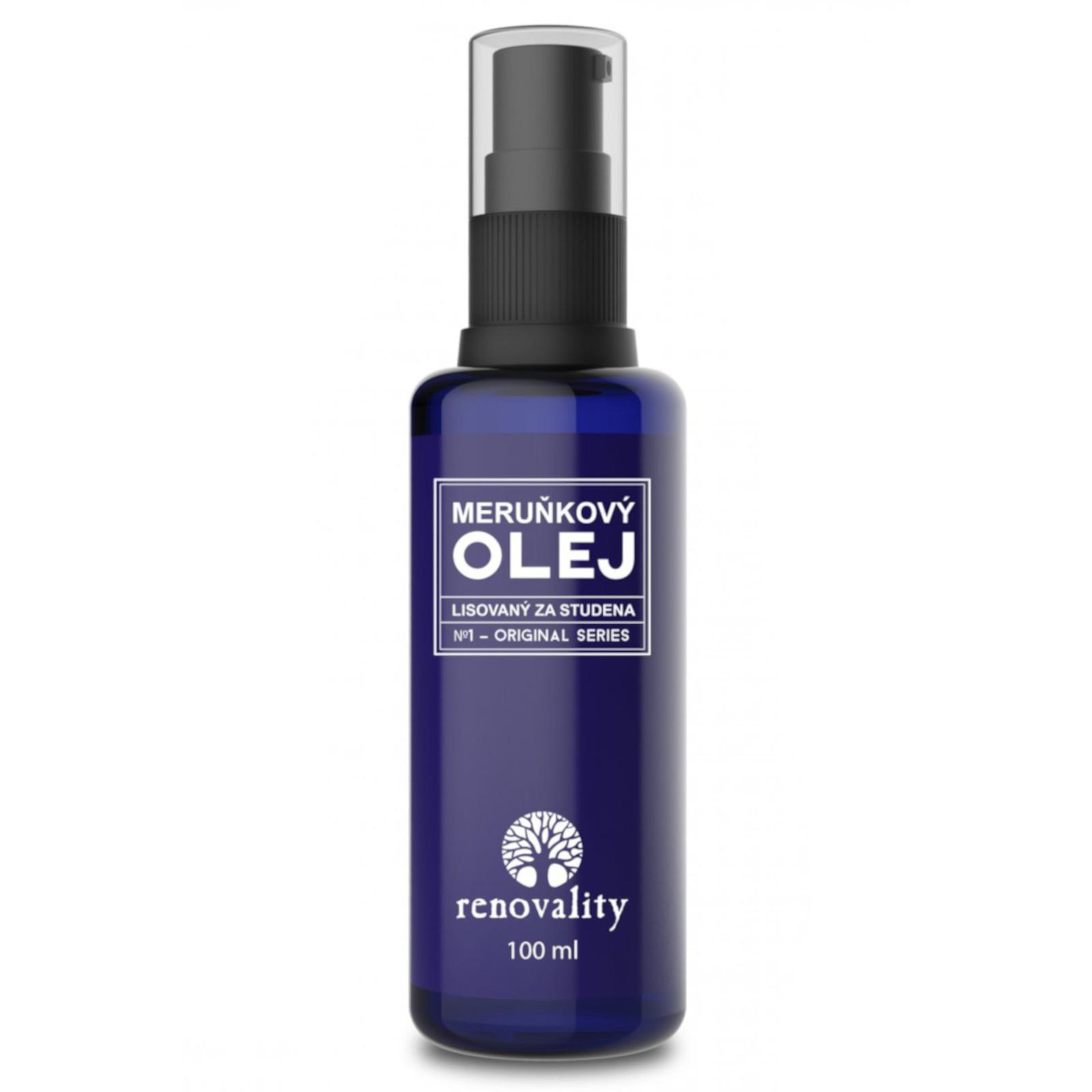 Renovality Meruňkový olej 100 ml