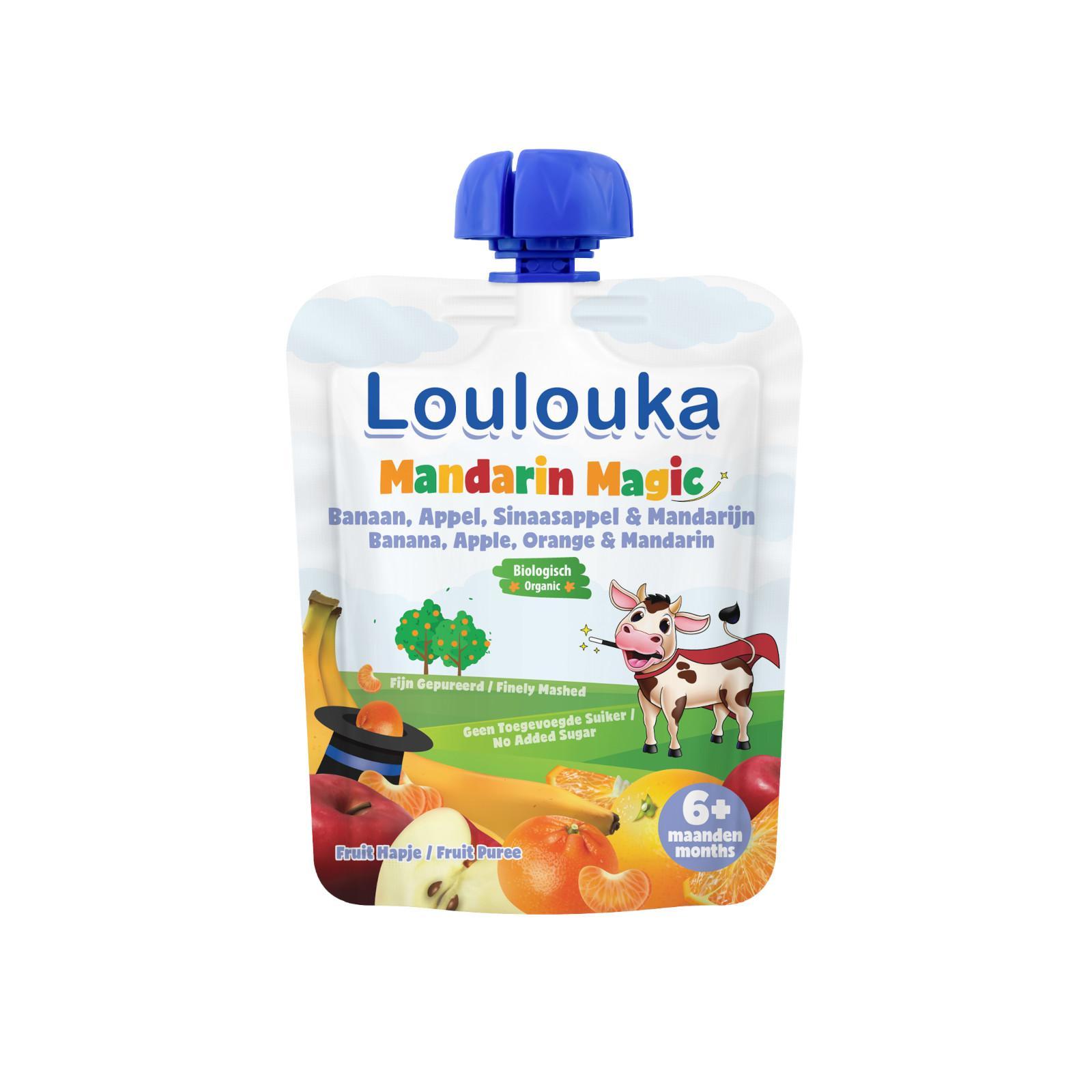Loulouka Mandarin Magic, ovocný příkrm 90 g