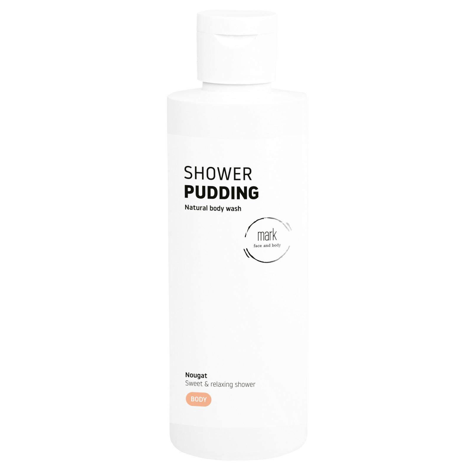 MARK face and body Sprchový puding MARK Nougat 200 ml