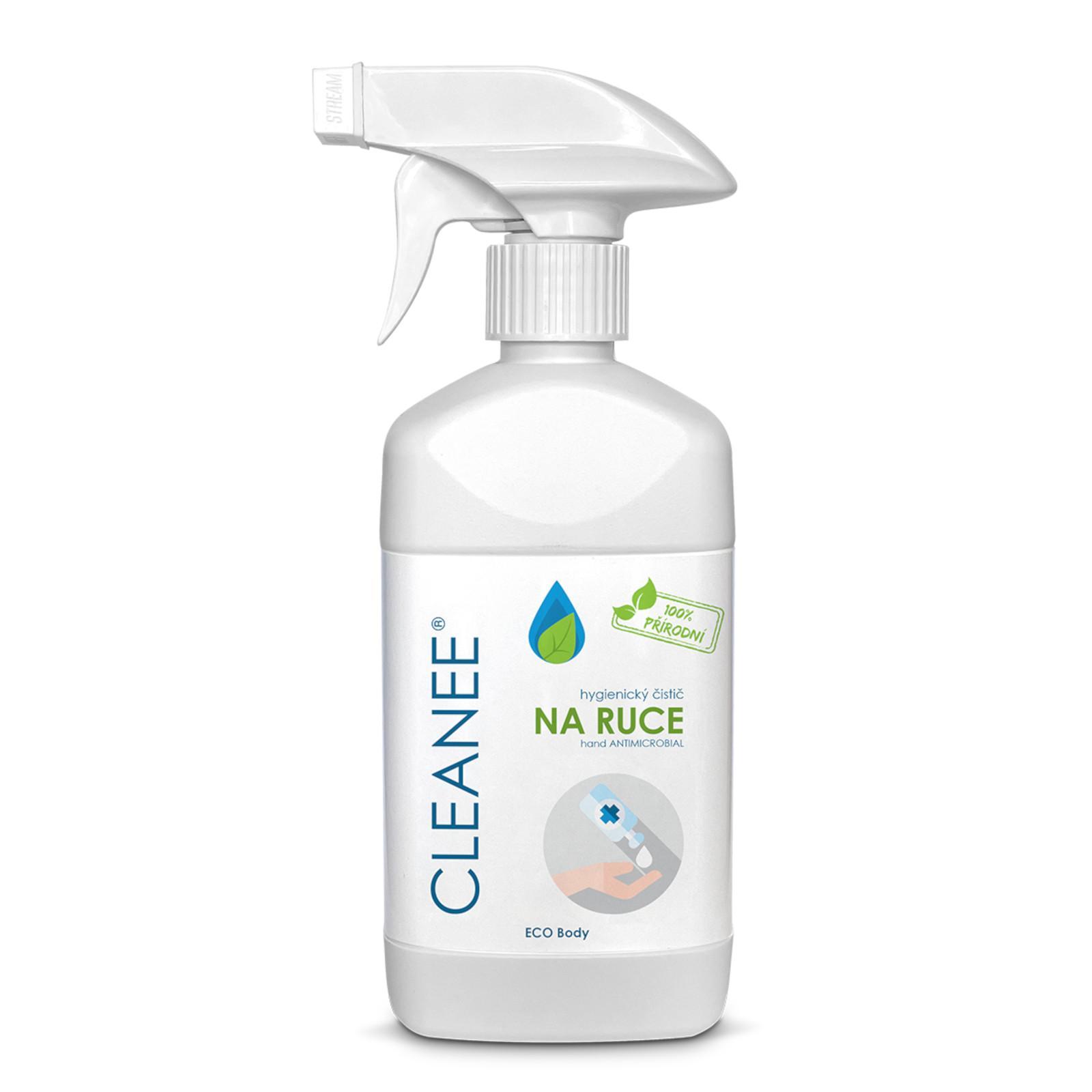CLEANEE ECO Body hygienický sprej na ruce 500 ml