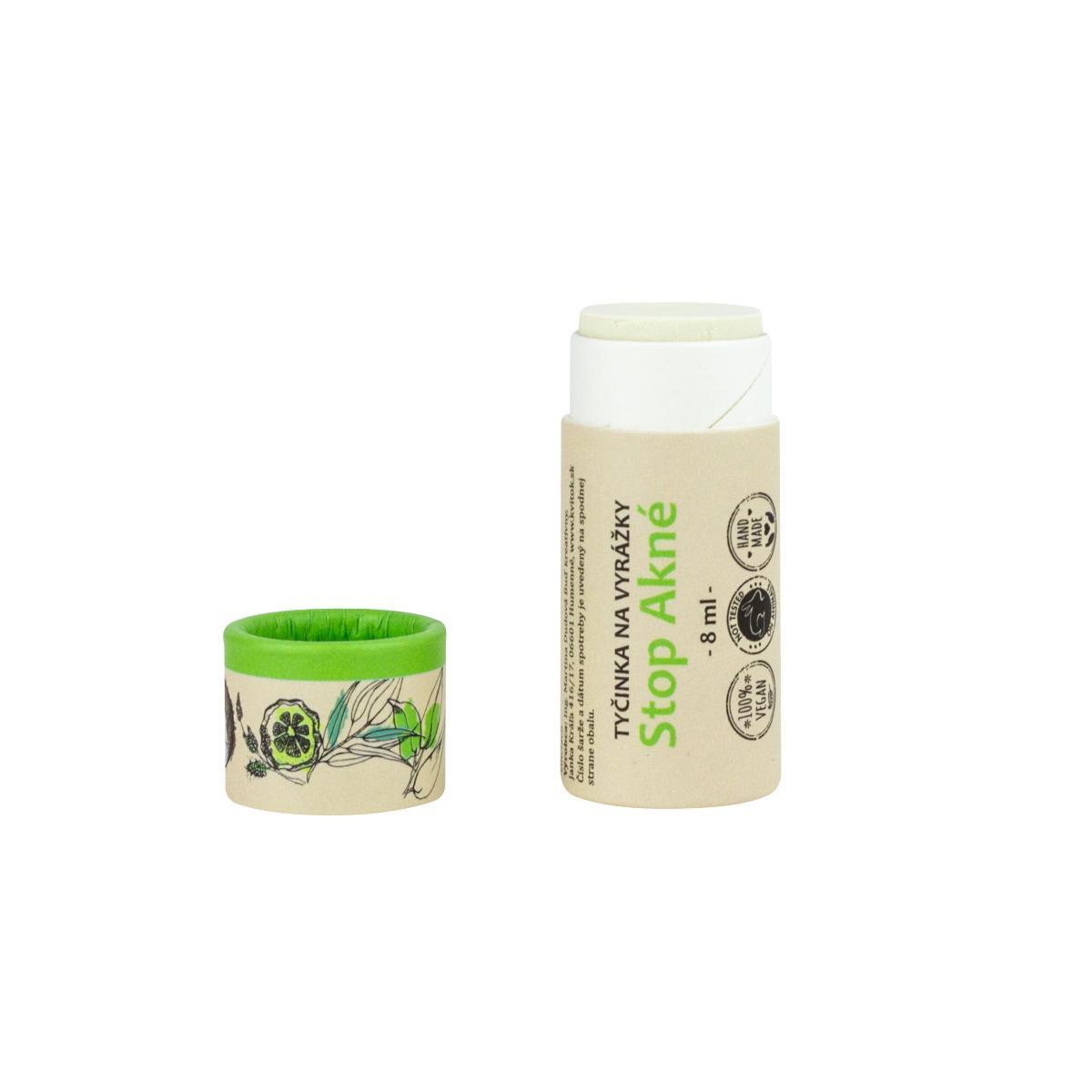 Kvitok Tyčinka na vyrážky, STOP akné 8 ml