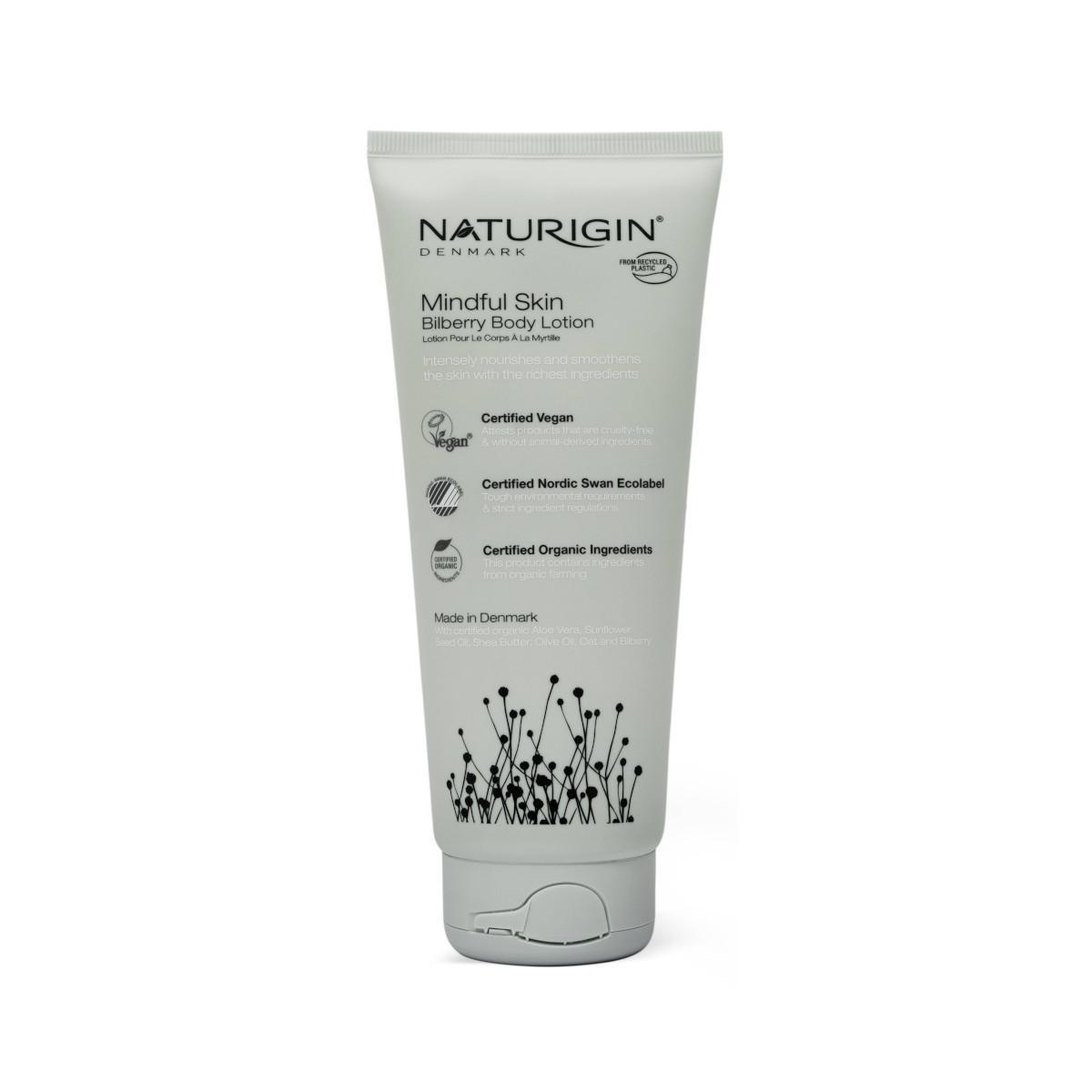 NATURIGIN Mindful Skin Tělové mléko borůvka 200 ml