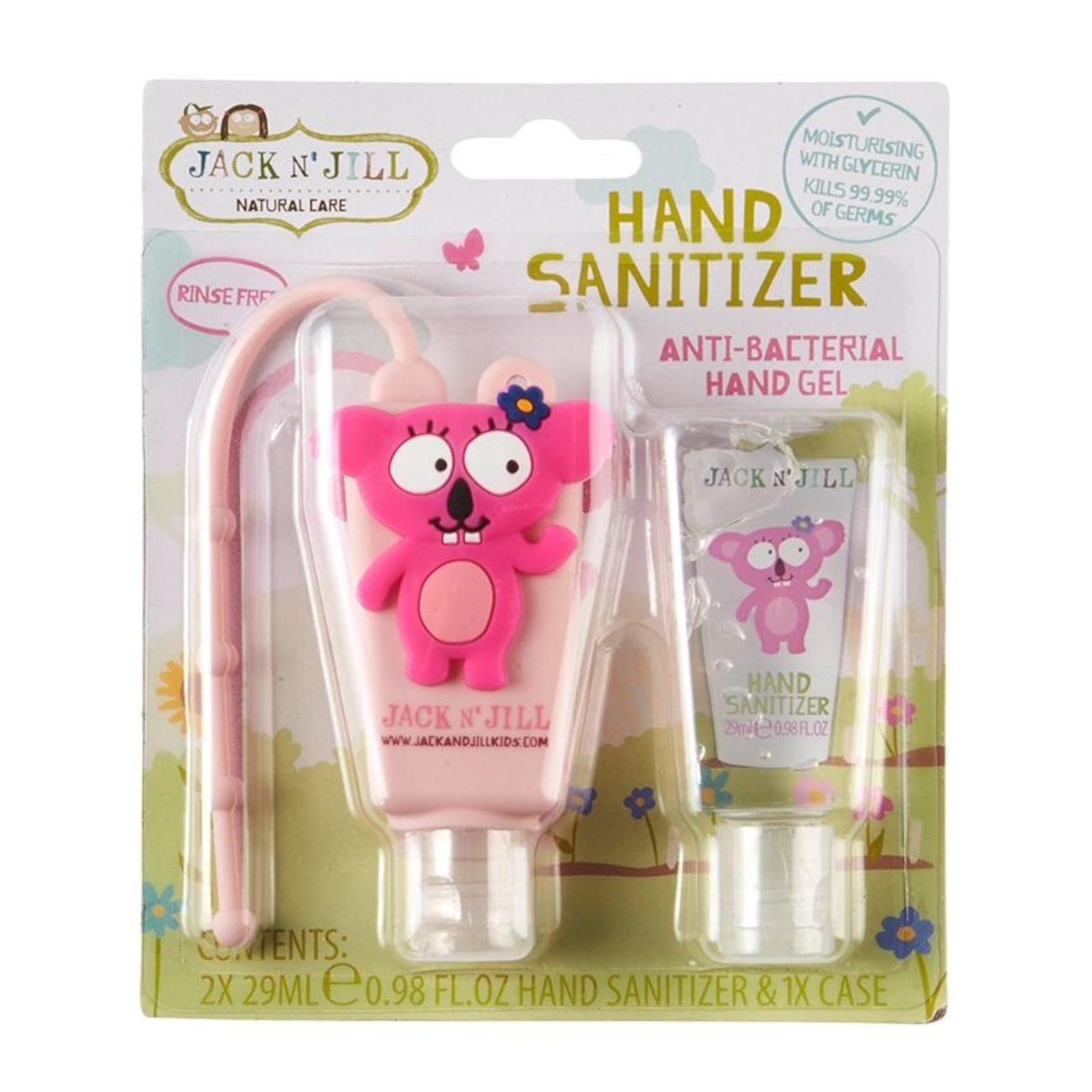 Jack n Jill Antibakteriálni gel na ruce pro děti Koala 2 x 29 ml
