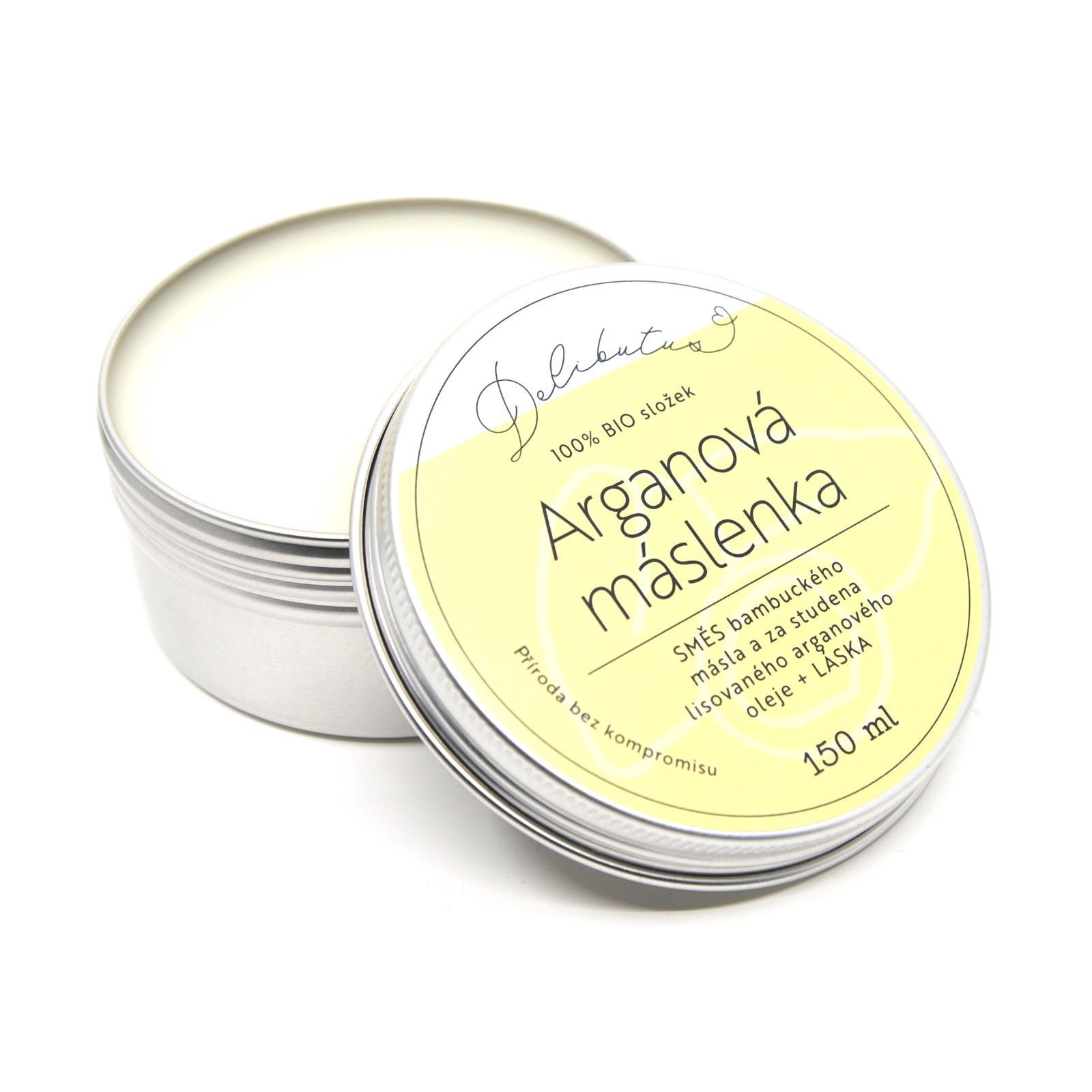 Delibutus Arganová máslenka 150 ml
