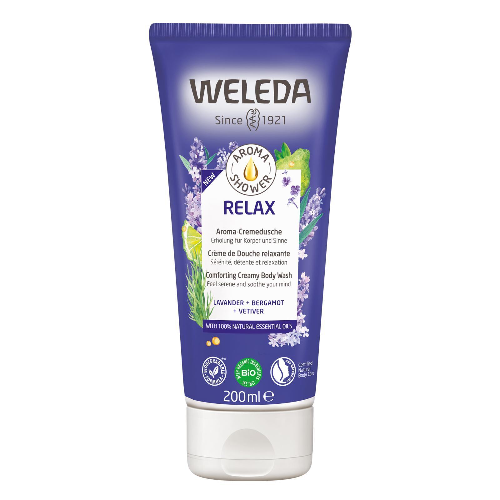 Weleda Aroma Shower sprchový krém Relax 200 ml