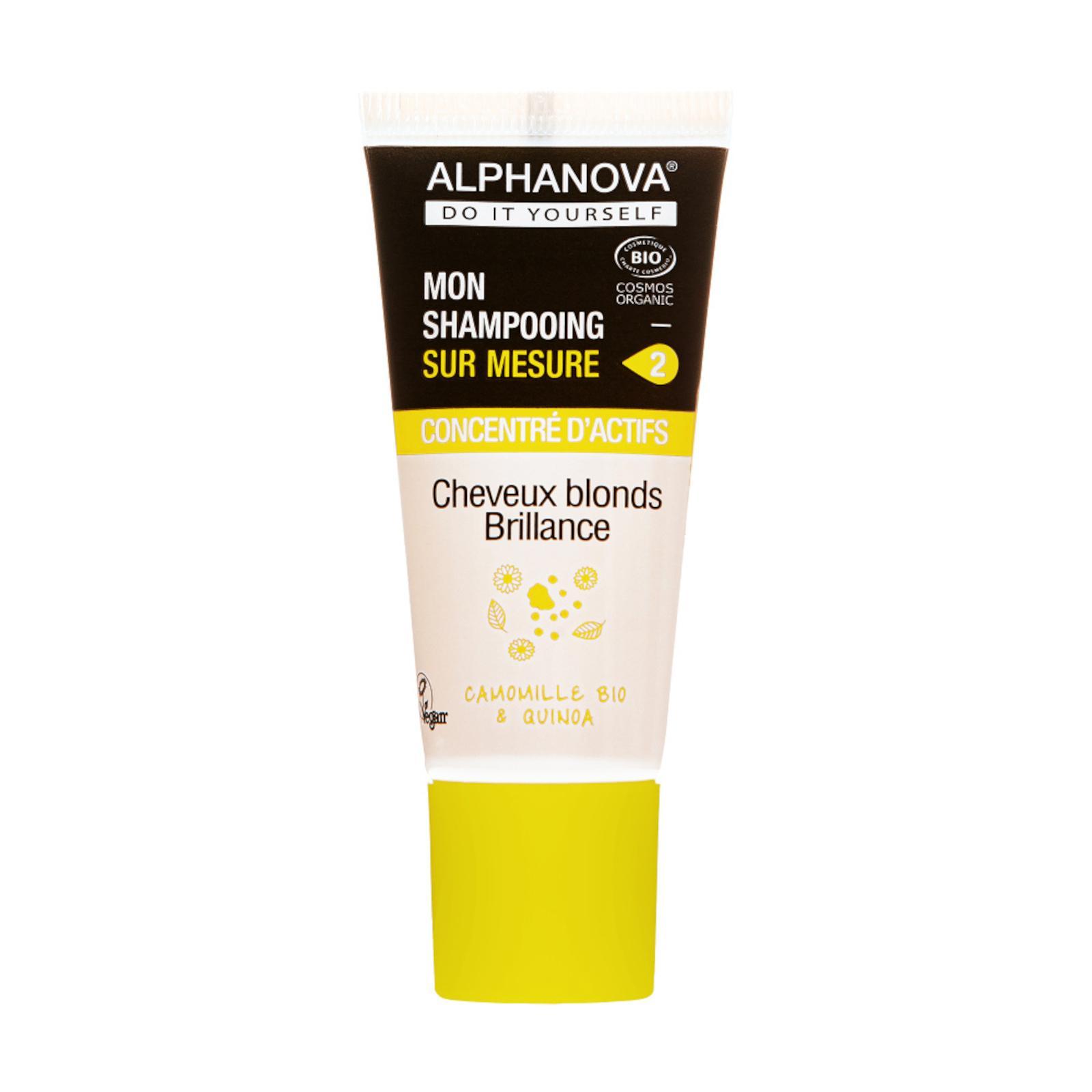 Alphanova Šampon DIY koncentrát na barvené a blond vlasy 20 ml