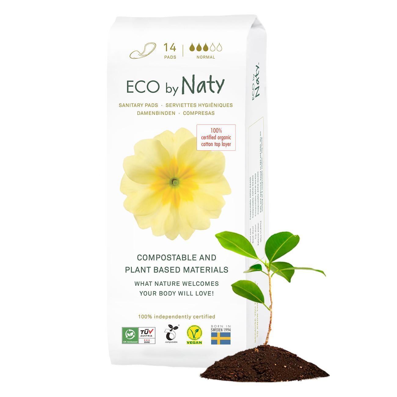 Eco by Naty Dámské vložky normal 14 ks