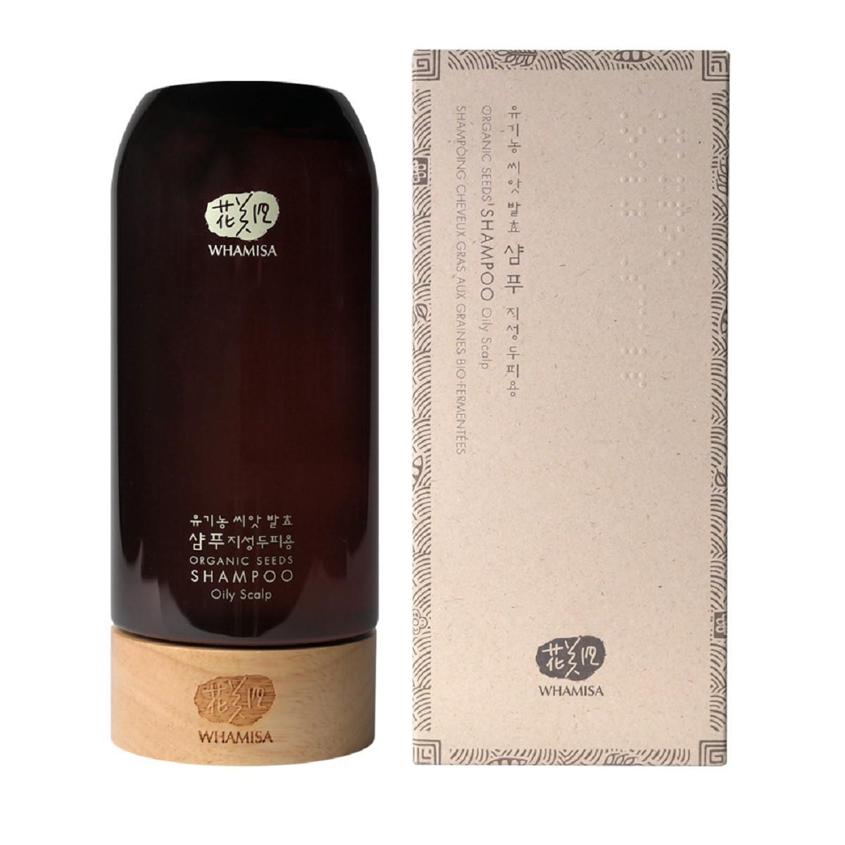 WHAMISA BIO Šampon na mastnou pokožku hlavy 510 ml