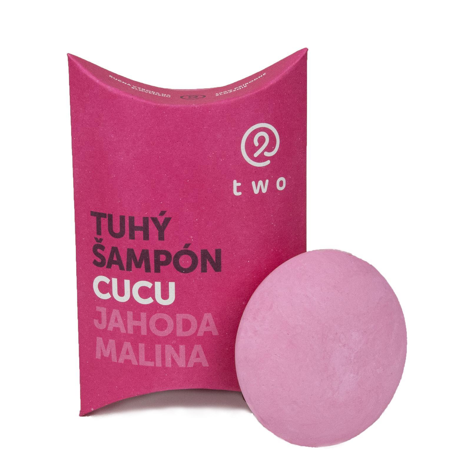 two cosmetics Tuhý šampon Cucu 85 g