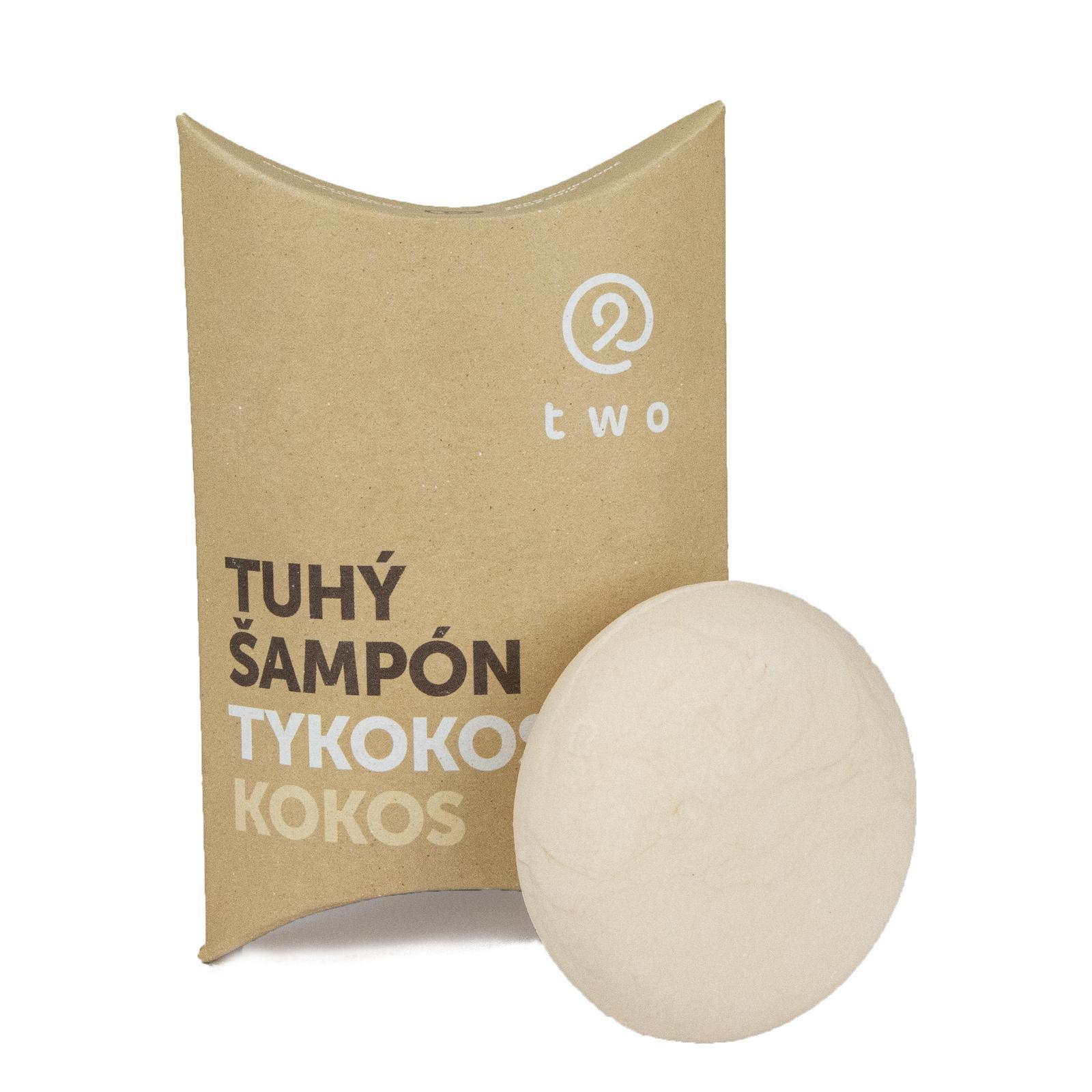 two cosmetics Tuhý šampon Tykokos 85 g