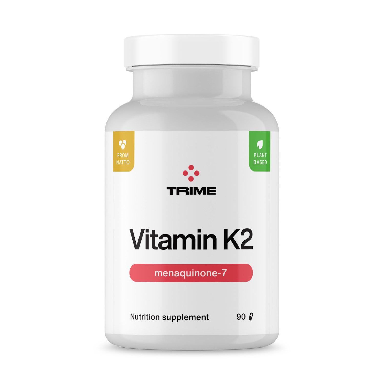 Trime K2 - MK7, kapsle 90 ks, 21 g