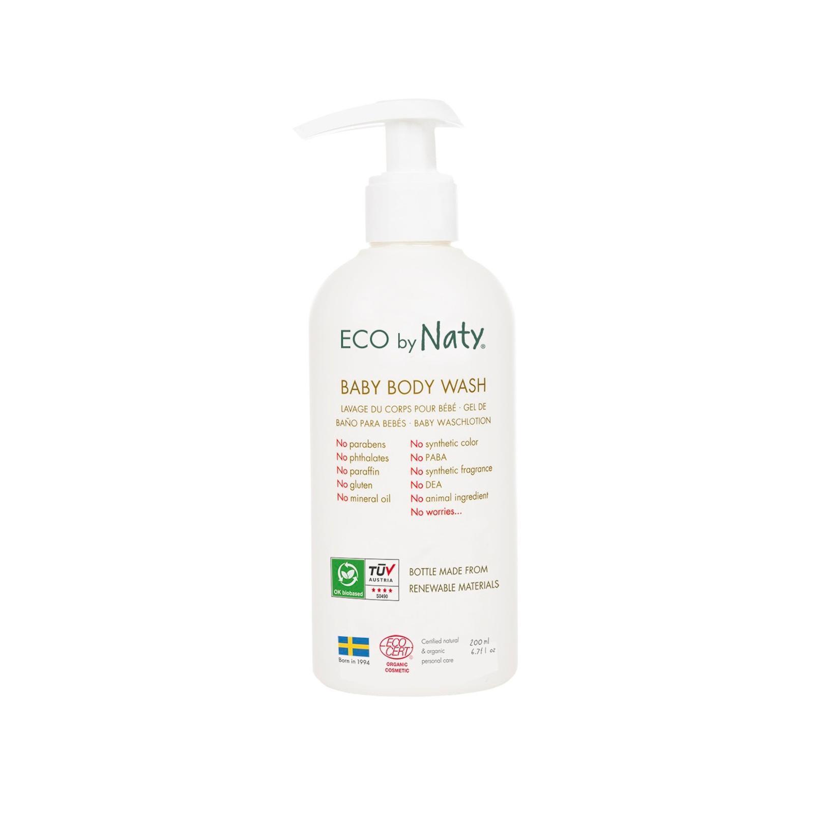 Eco by Naty Dětské tělové mýdlo, Poškozeno 200 ml