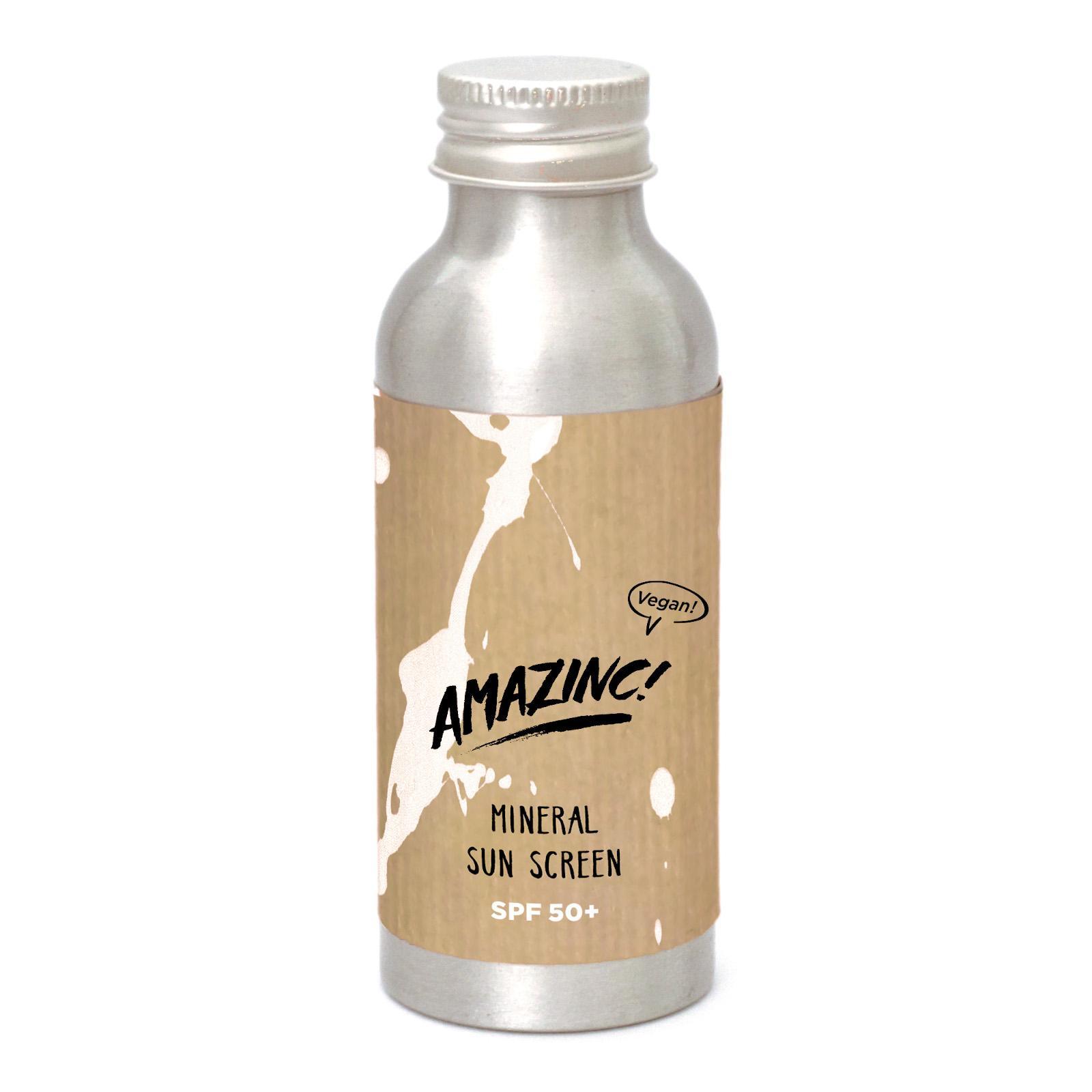 AMAZINC! Minerální opalovací mléko SPF 50 100 ml