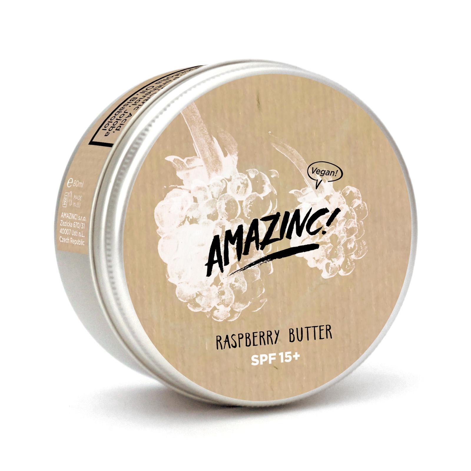 AMAZINC! Malinové máslo SPF 15 150 ml