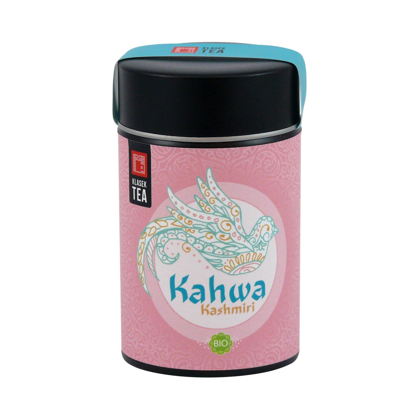 Keiko Zelený čaj Kashmiri Kahwa, kovová dóza 60 g